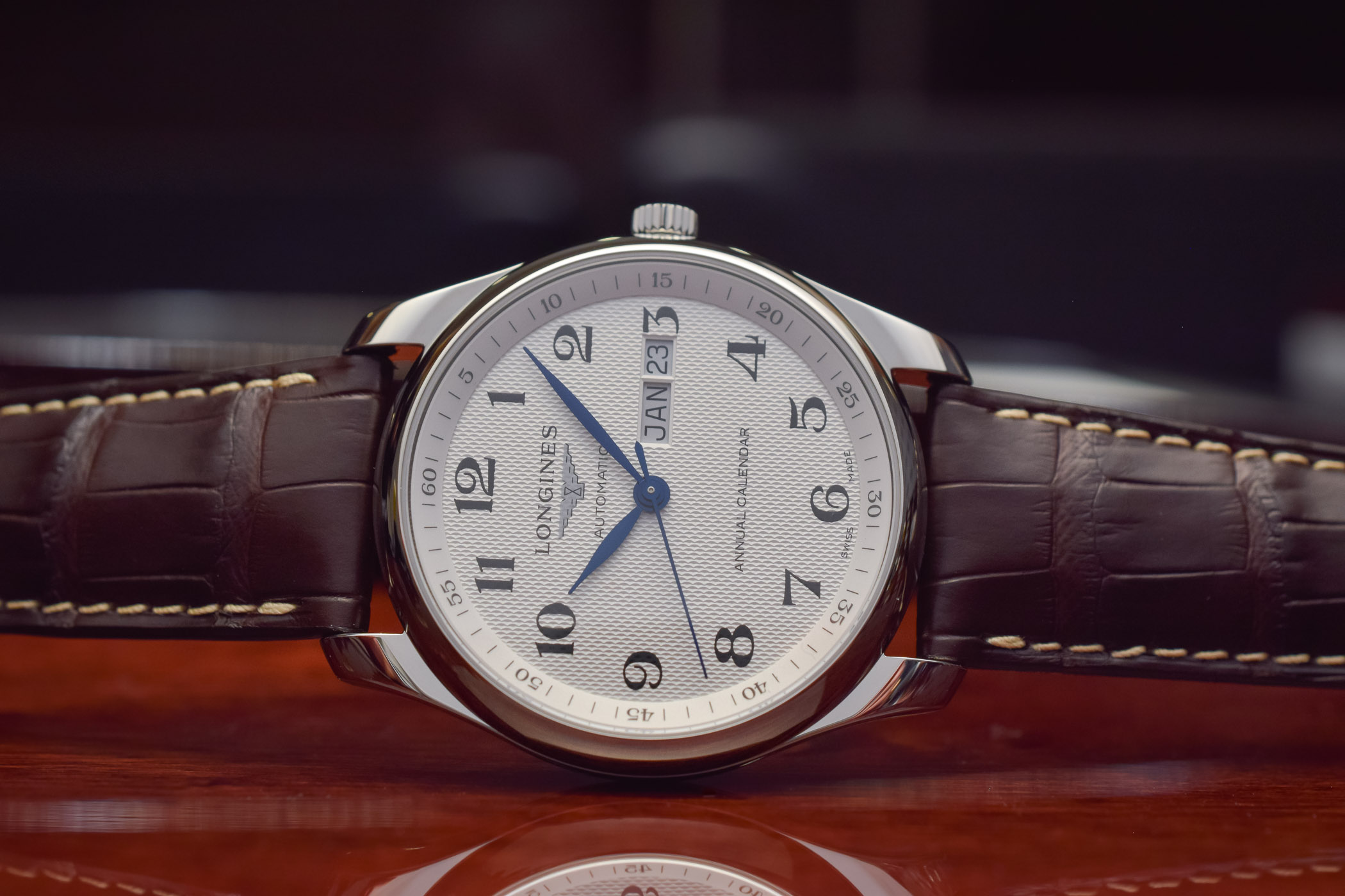 the best attitude 2a562 47865 Hands-On - The Surprisingly Affordable Longines Master ...