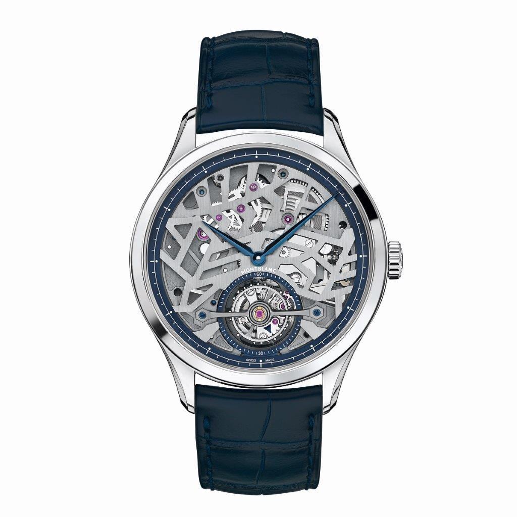 Montblanc Heritage Chronometrie Exo Tourbillon Slim Openworked 118512