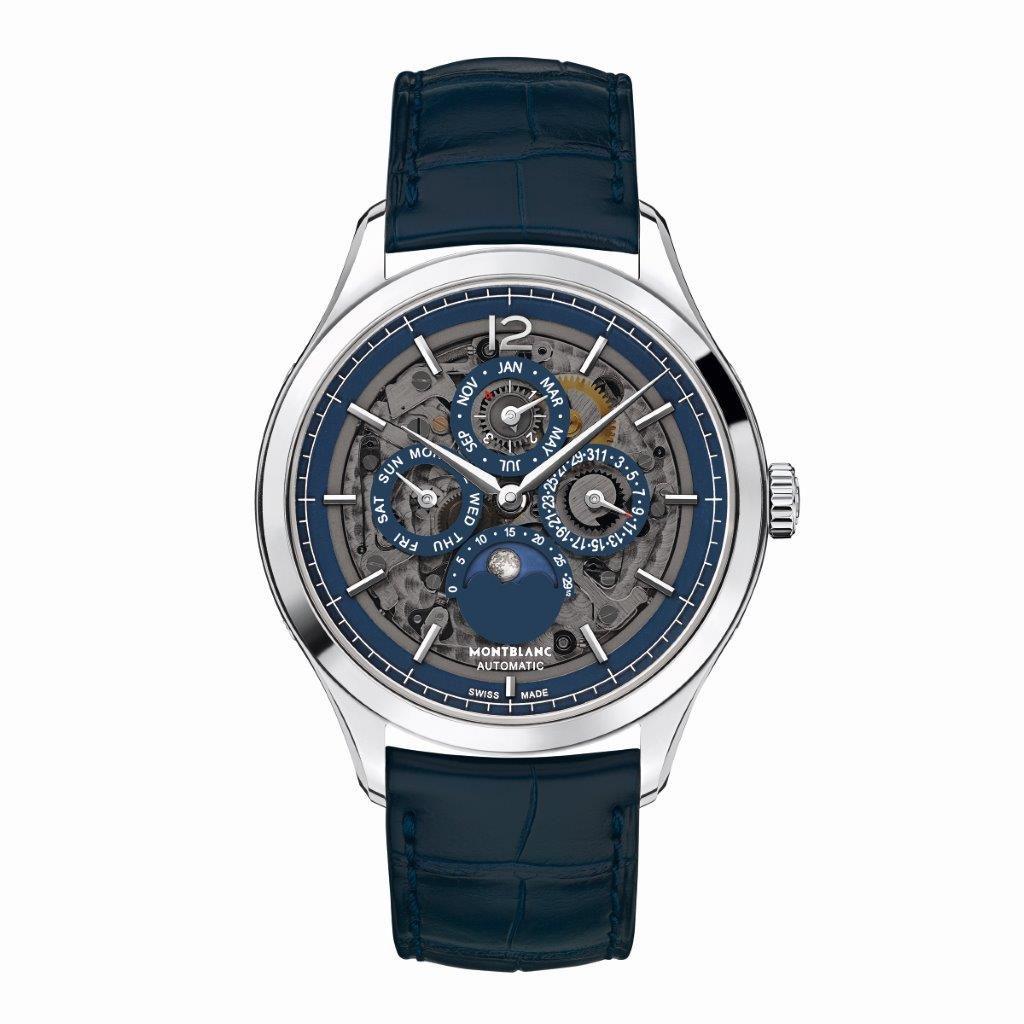Montblanc Heritage Chronometrie Perpetual Calendar Sapphire slim 118513