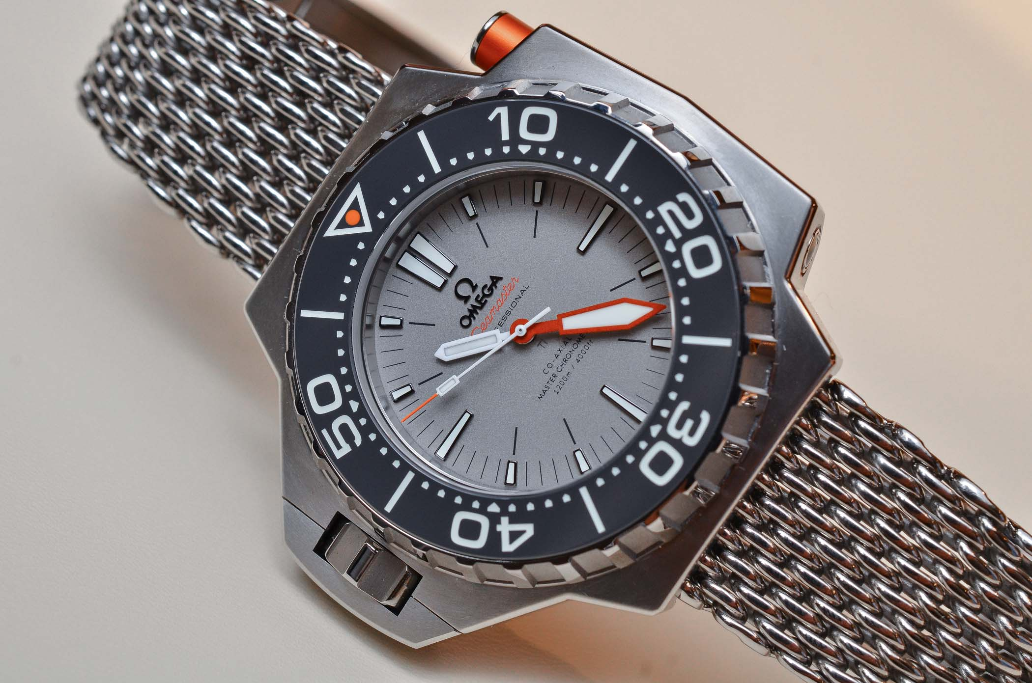 Omega Seamaster Ploprof 1200 Master Coaxial Titanium