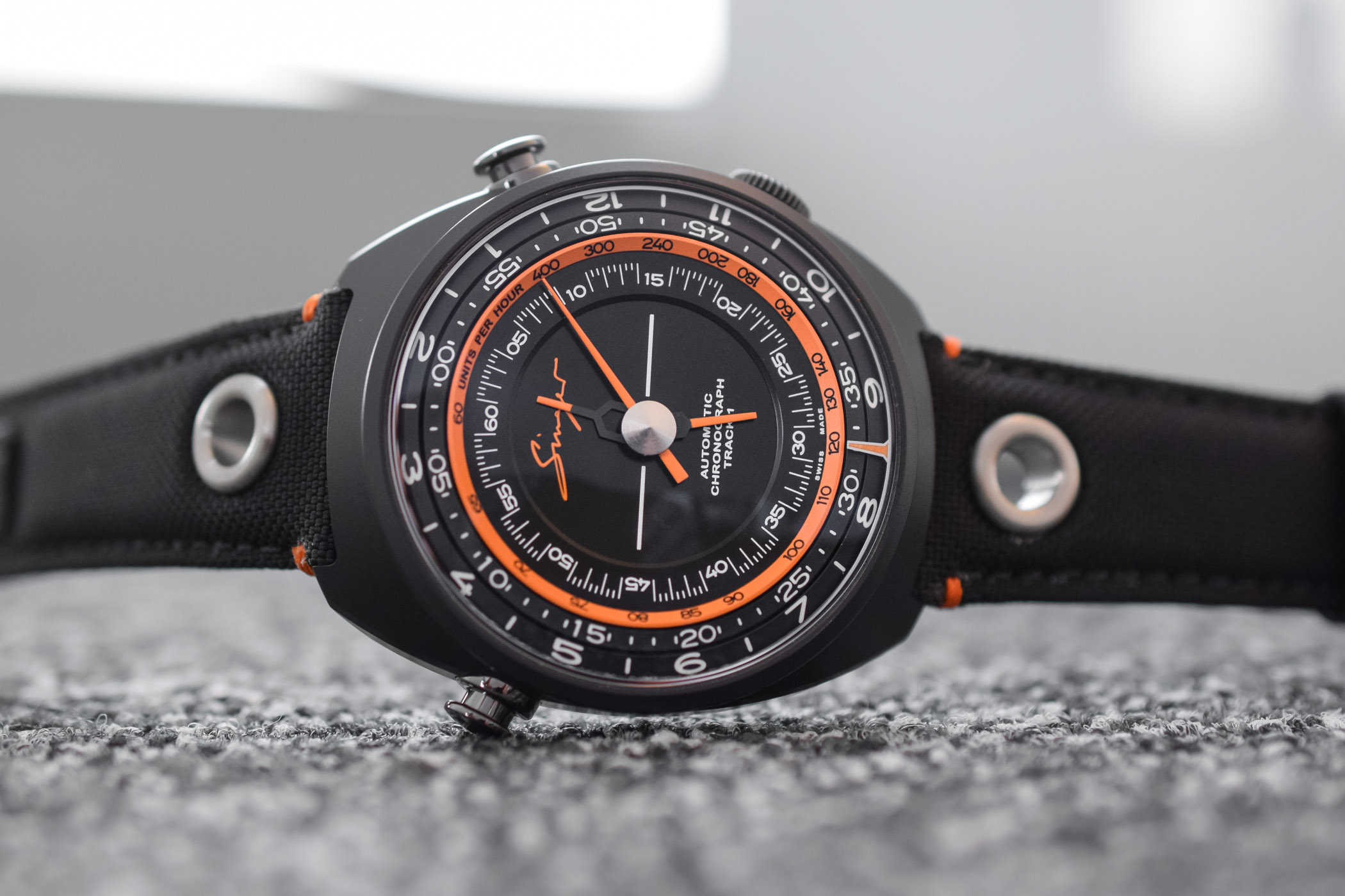 Singer Track 1 Hong-Kong Edition Black Ceramic-aluminum