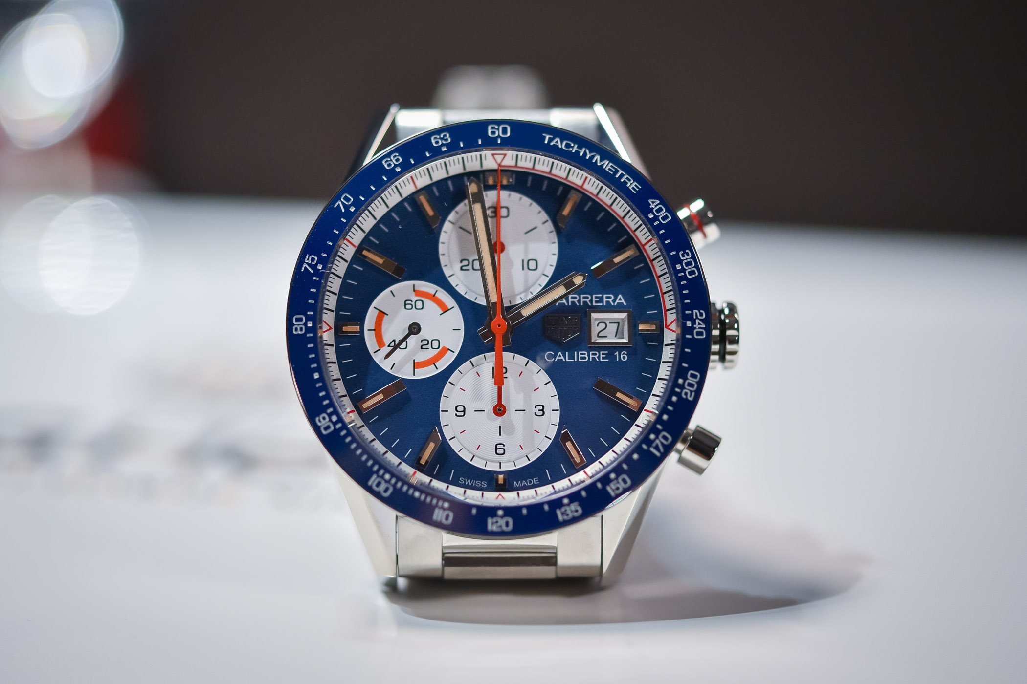 70800190be7 Hands-On - TAG Heuer Carrera Calibre 16 Chronograph 2018 Version ...