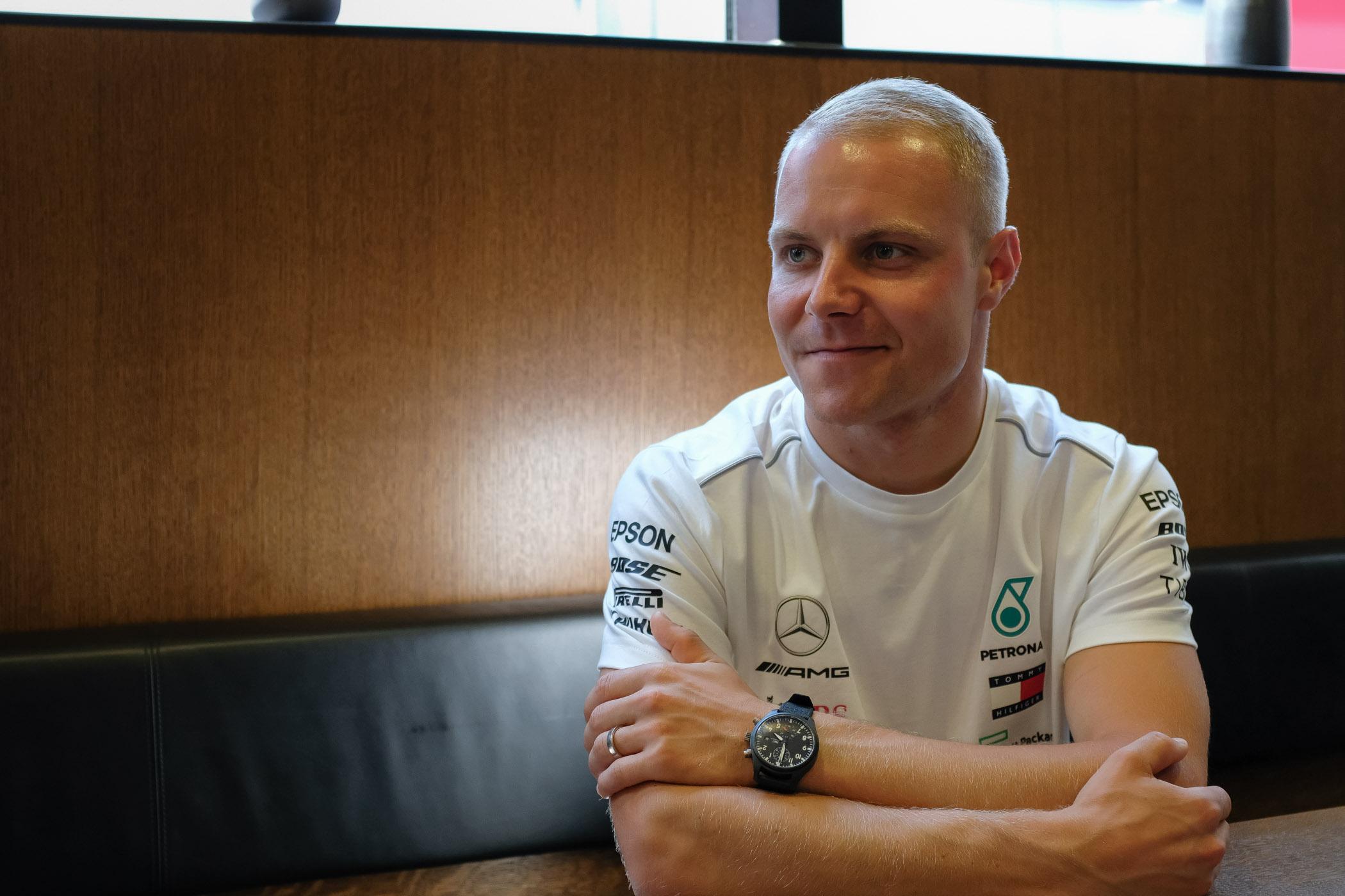 Valtteri Bottas Interview MONOCHROME IWC Watches