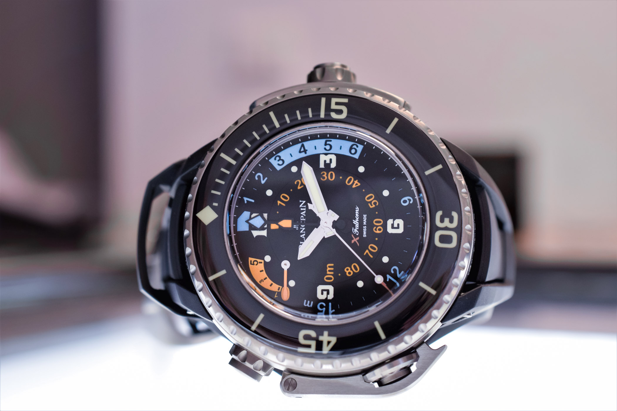 0fb0f593d57 One of the most extreme dive watches on the market