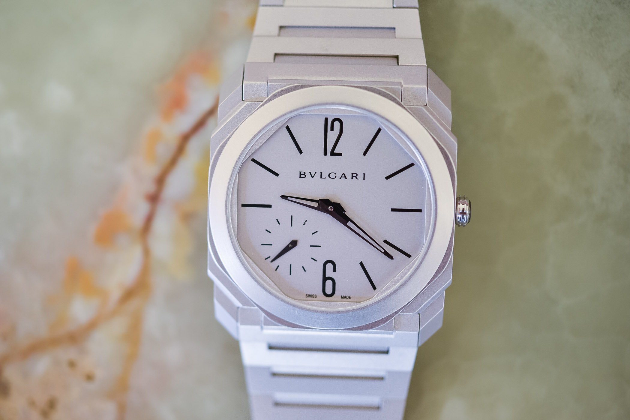 Bulgari Octo Finissimo Automatic Sandblasted Steel
