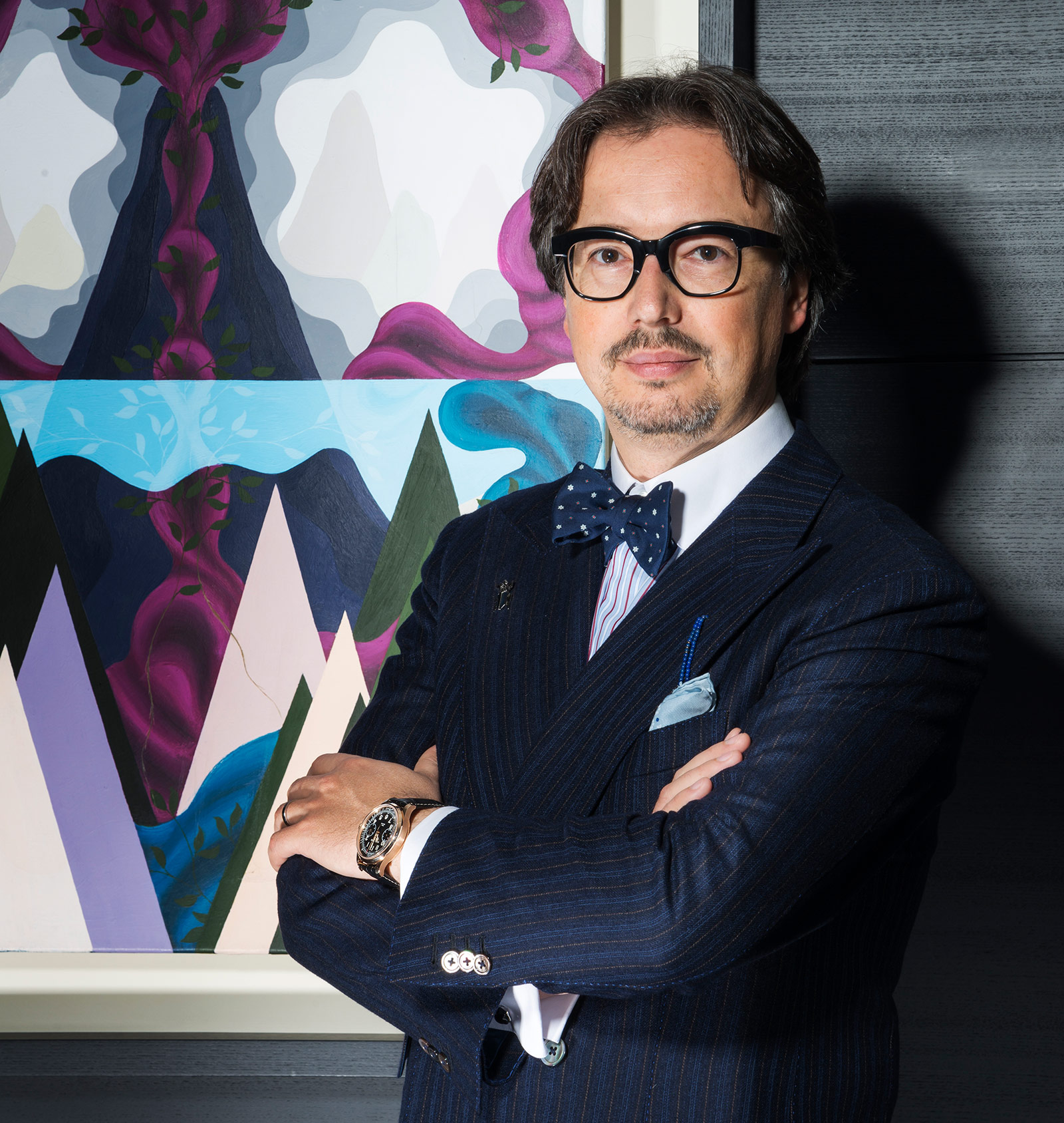 Davide Cerrato, Managing Director Of Montblanc Watch Division