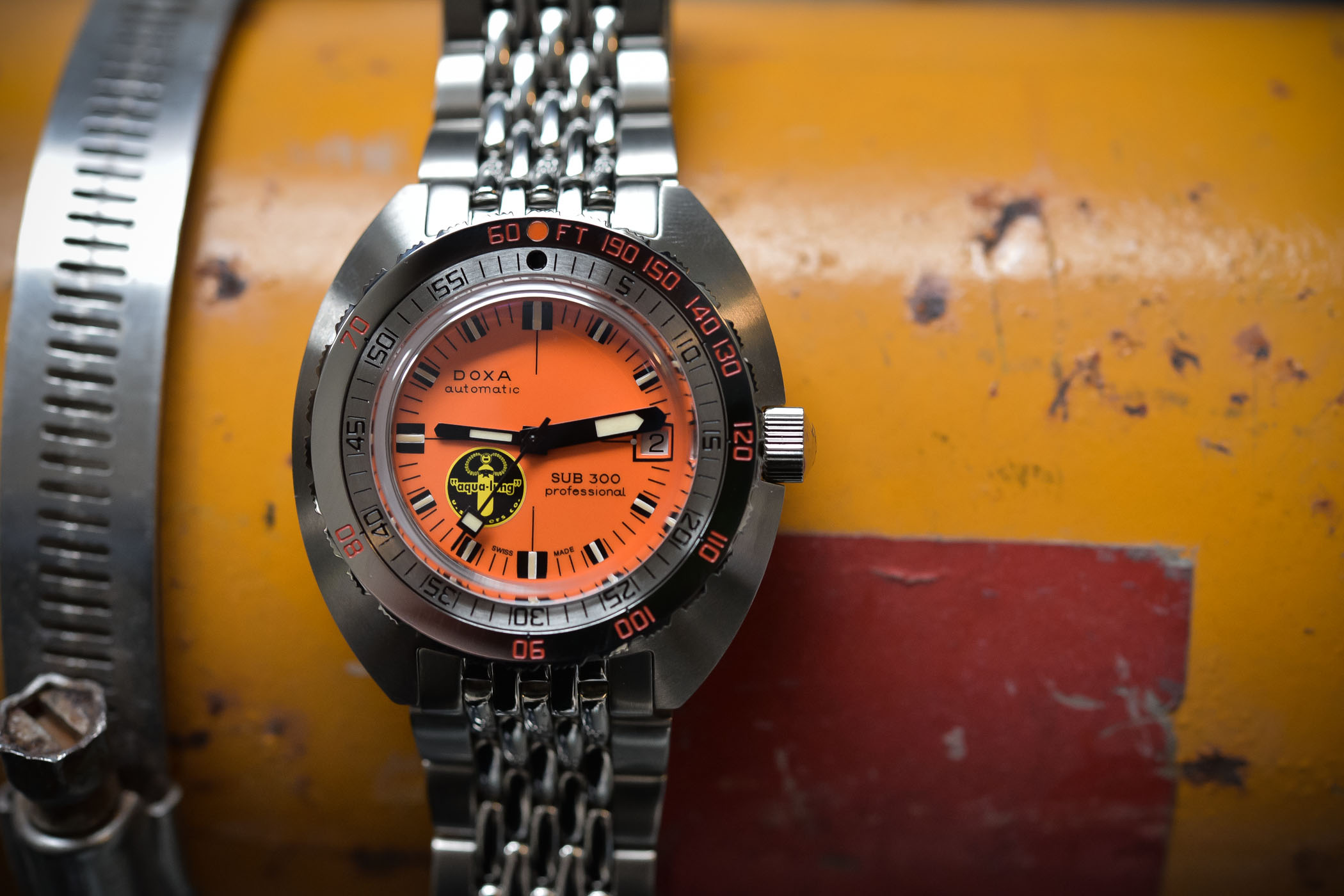 Doxa SUB-300 Black Lung 2017 Reissue
