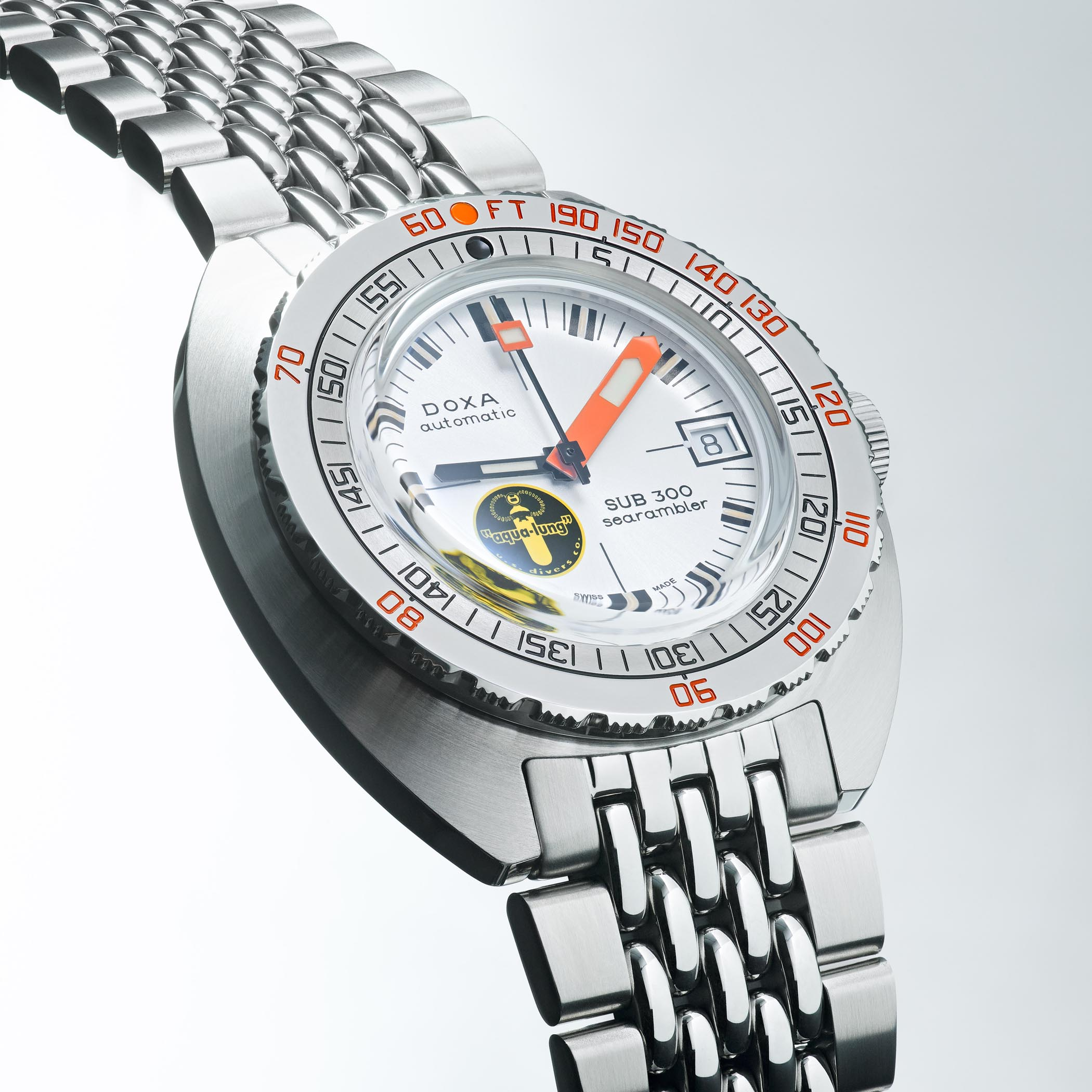 Doxa SUB 300 Searambler Silver Lung Reissue 50th Anniversary