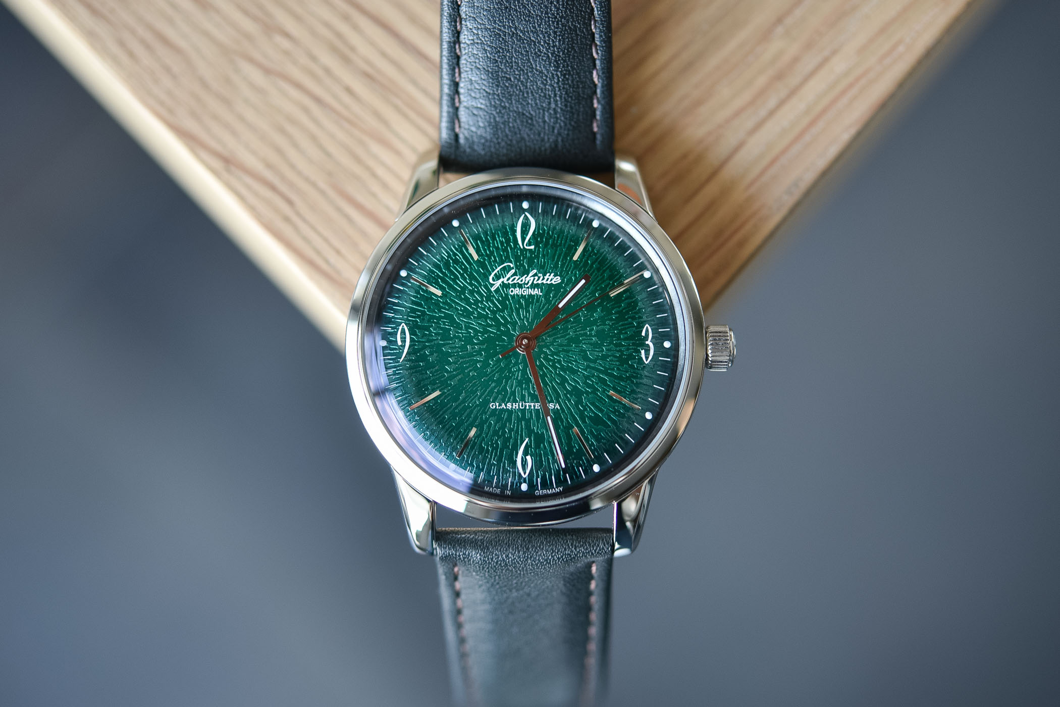 Glashutte Original Sixties Annual Edition 2018 Green Dial 39mm - 1-39-52-03-02-04