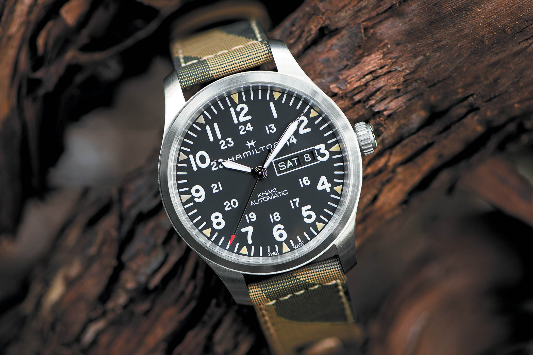 "Introducing - Hamilton Khaki Field Day-Date 42mm ""Camouflage ... d23ff111c2"