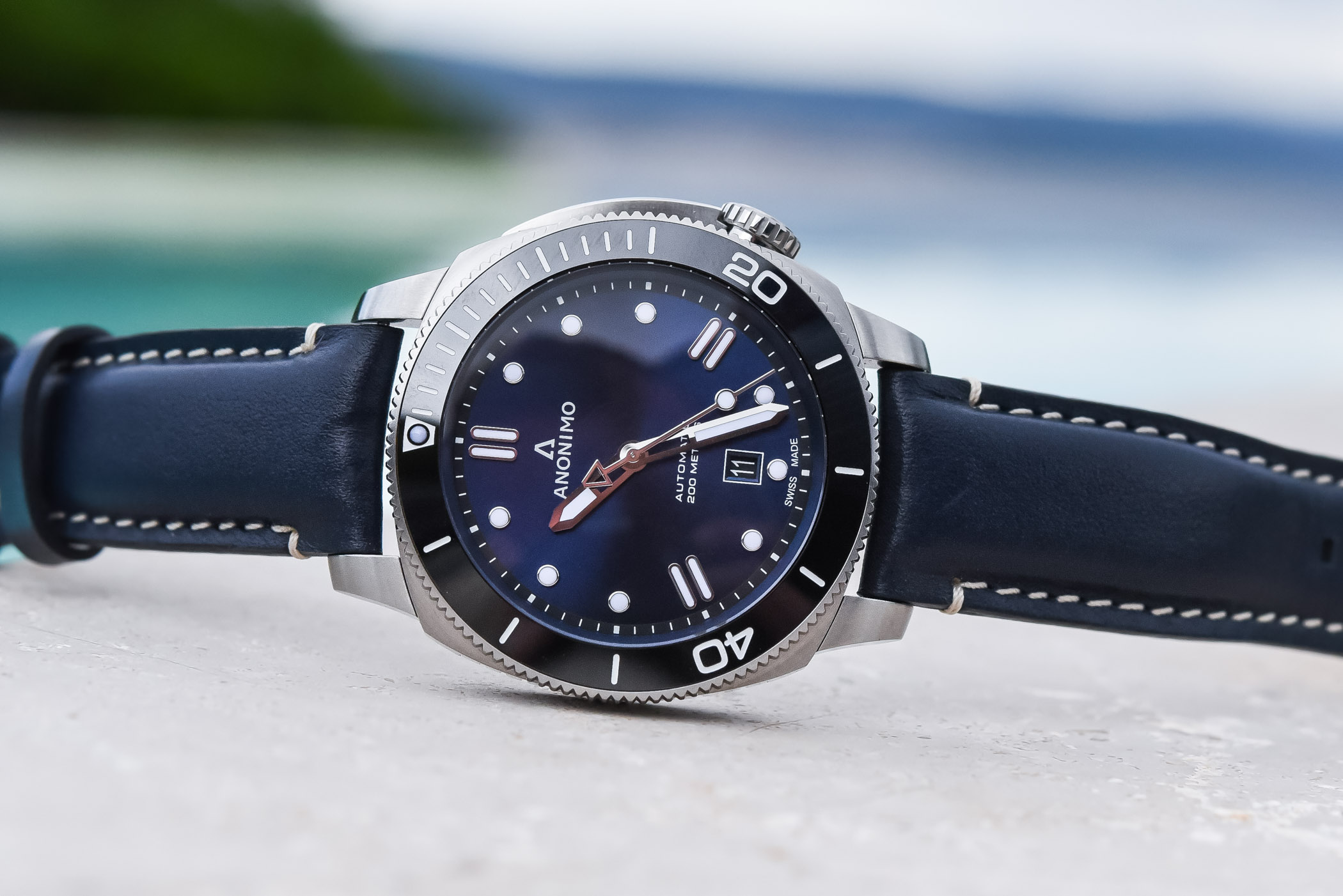 Anonimo Nautilo Blue Summer Edition