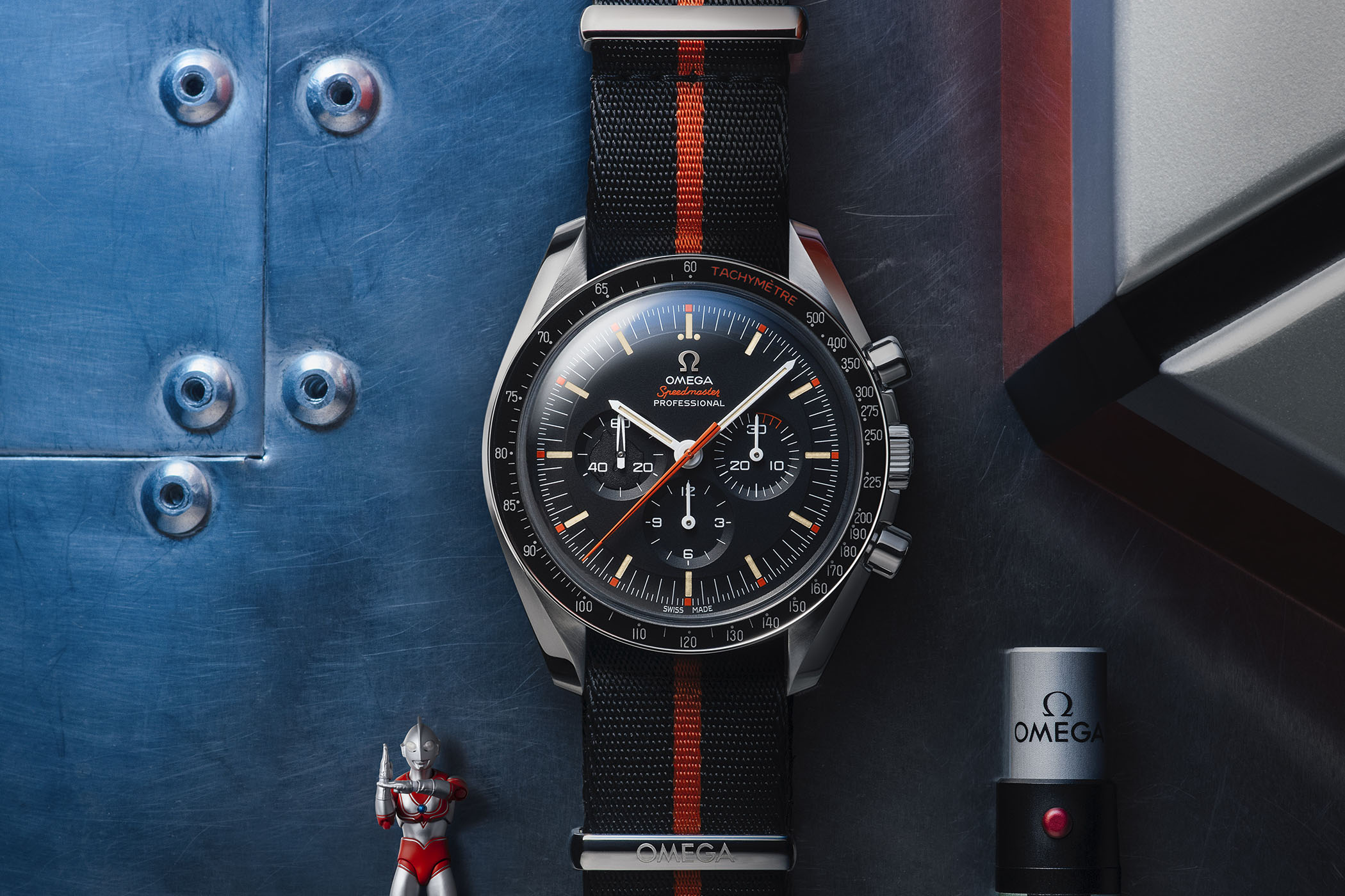 "b249111469e The Omega Speedmaster Speedy Tuesday 2 ""Ultraman"" (But It s Sold-Out  Already) - Monochrome Watches"