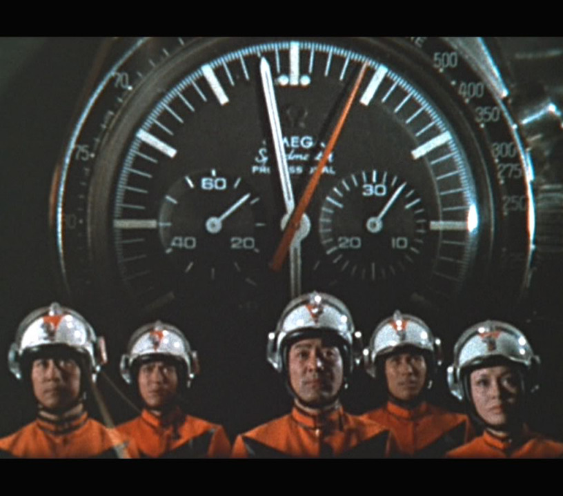 Omega Speedmaster Ultraman - Screenshot TV Show