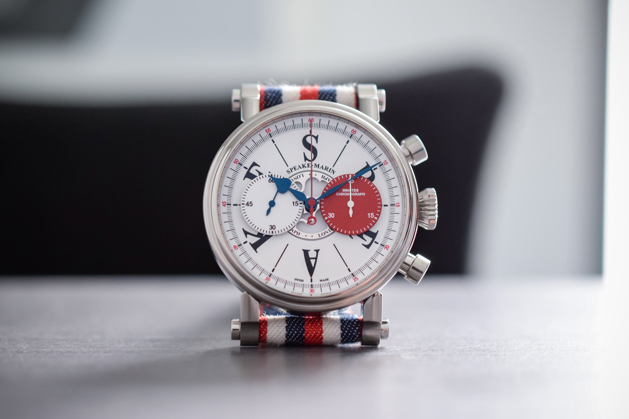 Speake-Marin London Chronograph valjoux 92