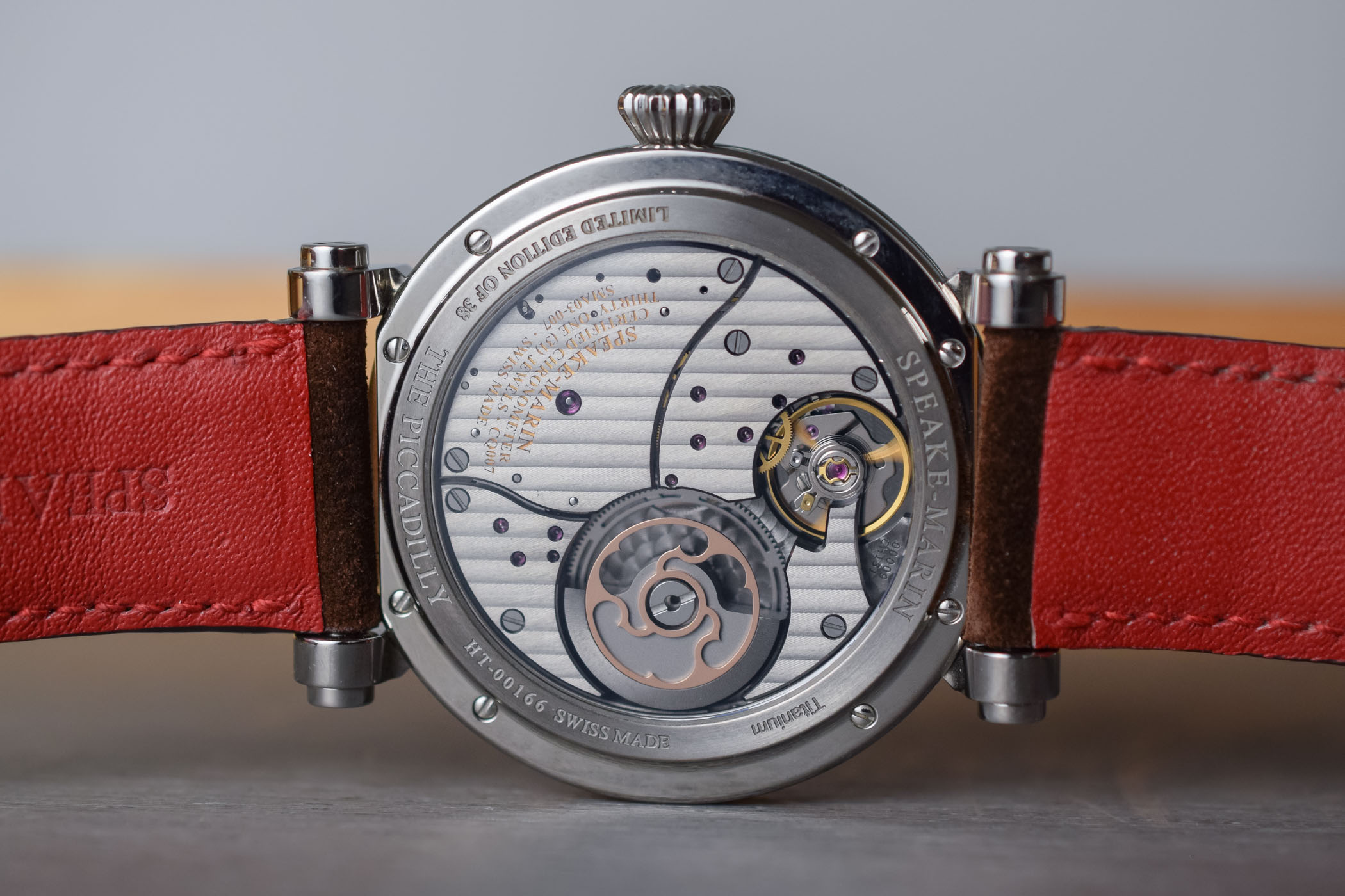 Speake Marin One & Two Academic