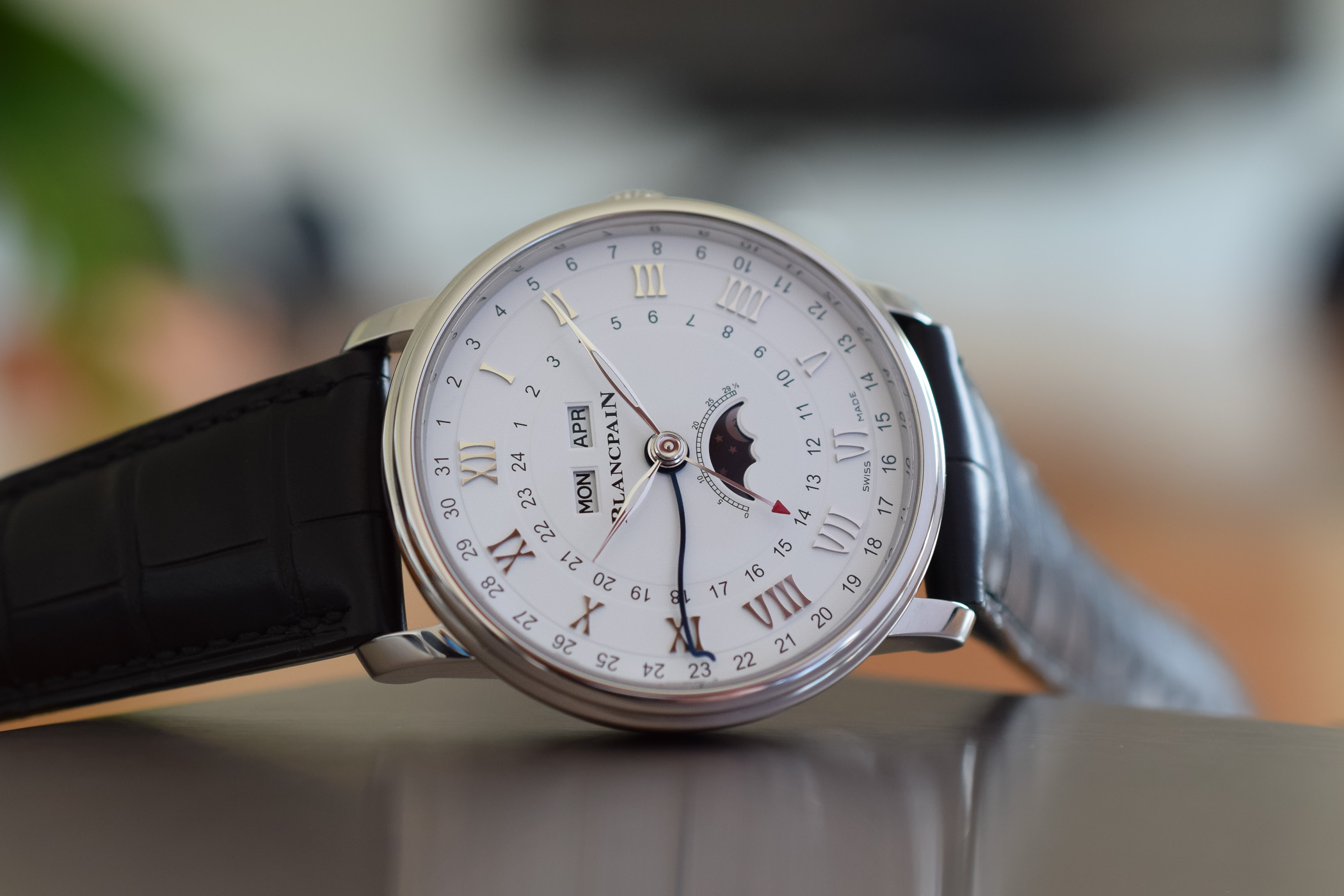 Blancpain Villeret Quantieme Complet GMT 6676