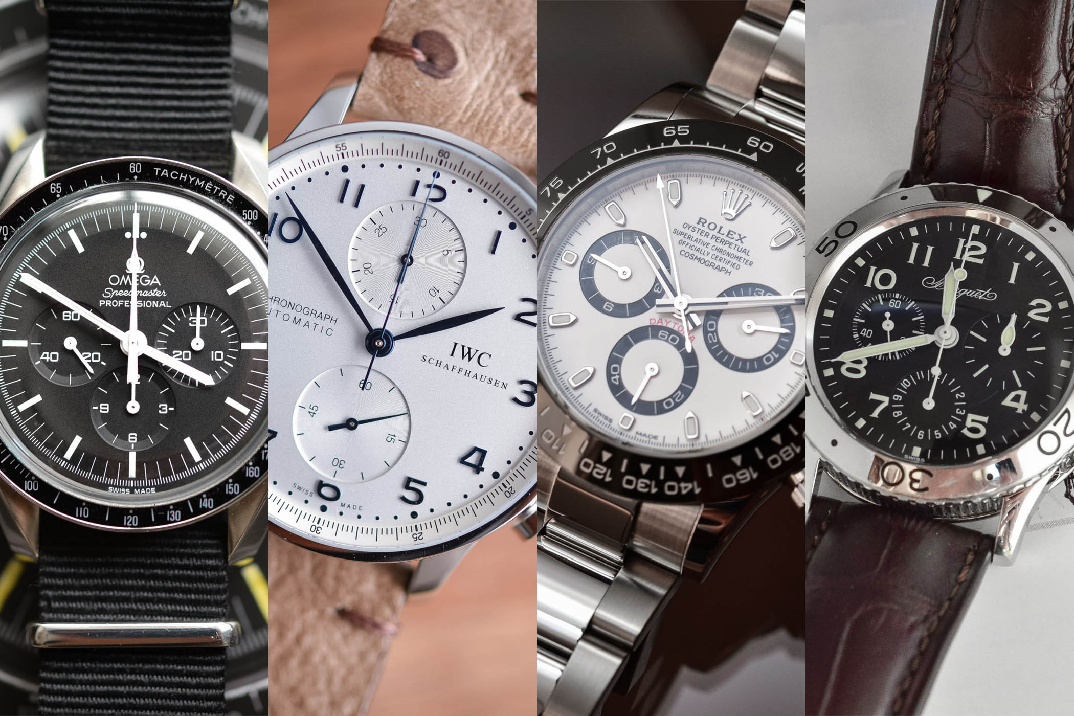 Buying Guide - 10 Most Iconic Chronographs You Can Buy In 2018