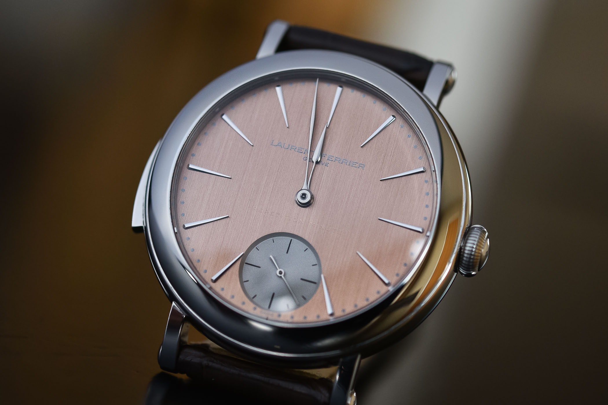 Laurent ferrier Galet Minute Repeater Montre Ecole