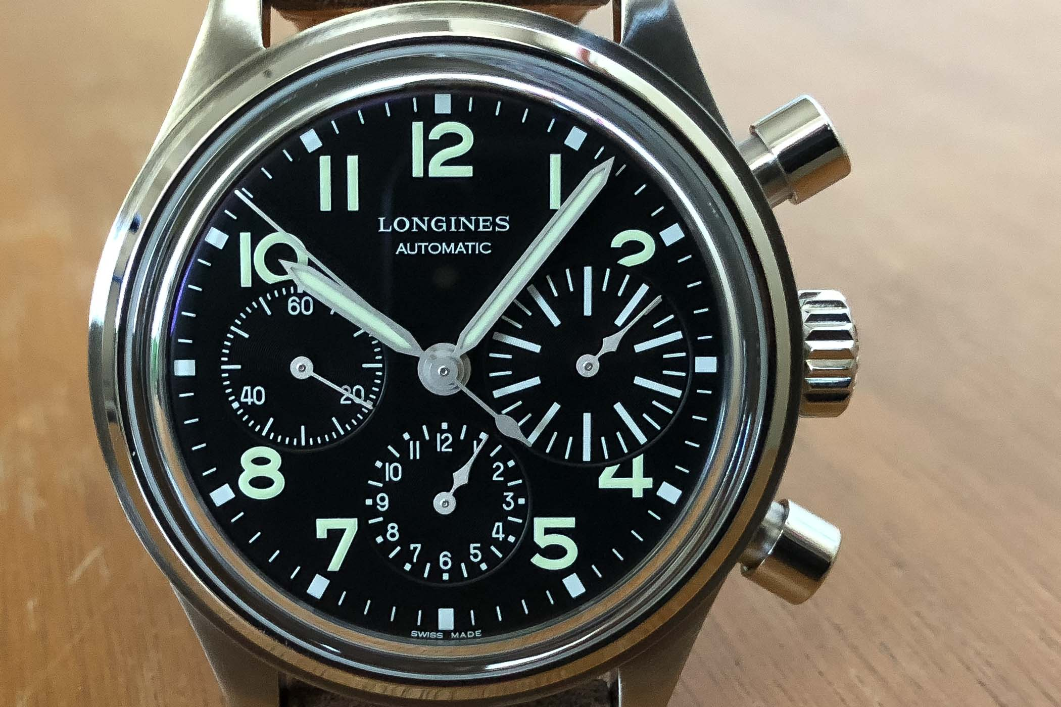 Longines Avigation BigEye Chronograph Pilot - Review
