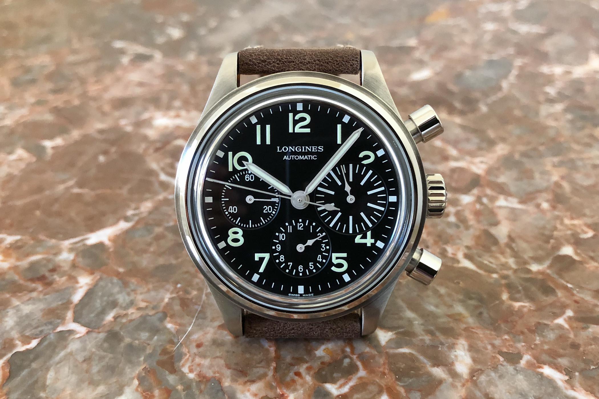Longines Avigation BigEye Chronograph Pilot - Review