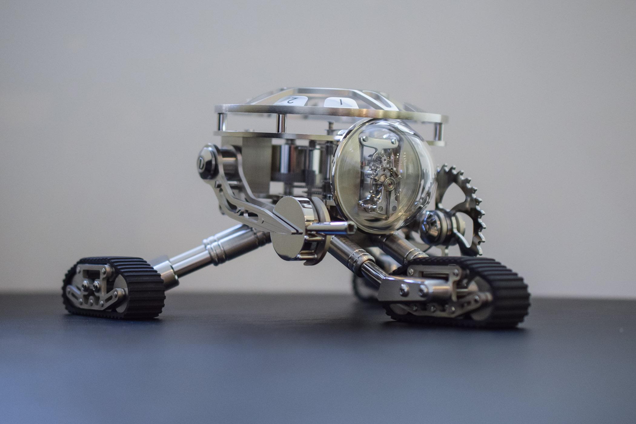 MB&F Grant L'Epee 1839 Robot Clock