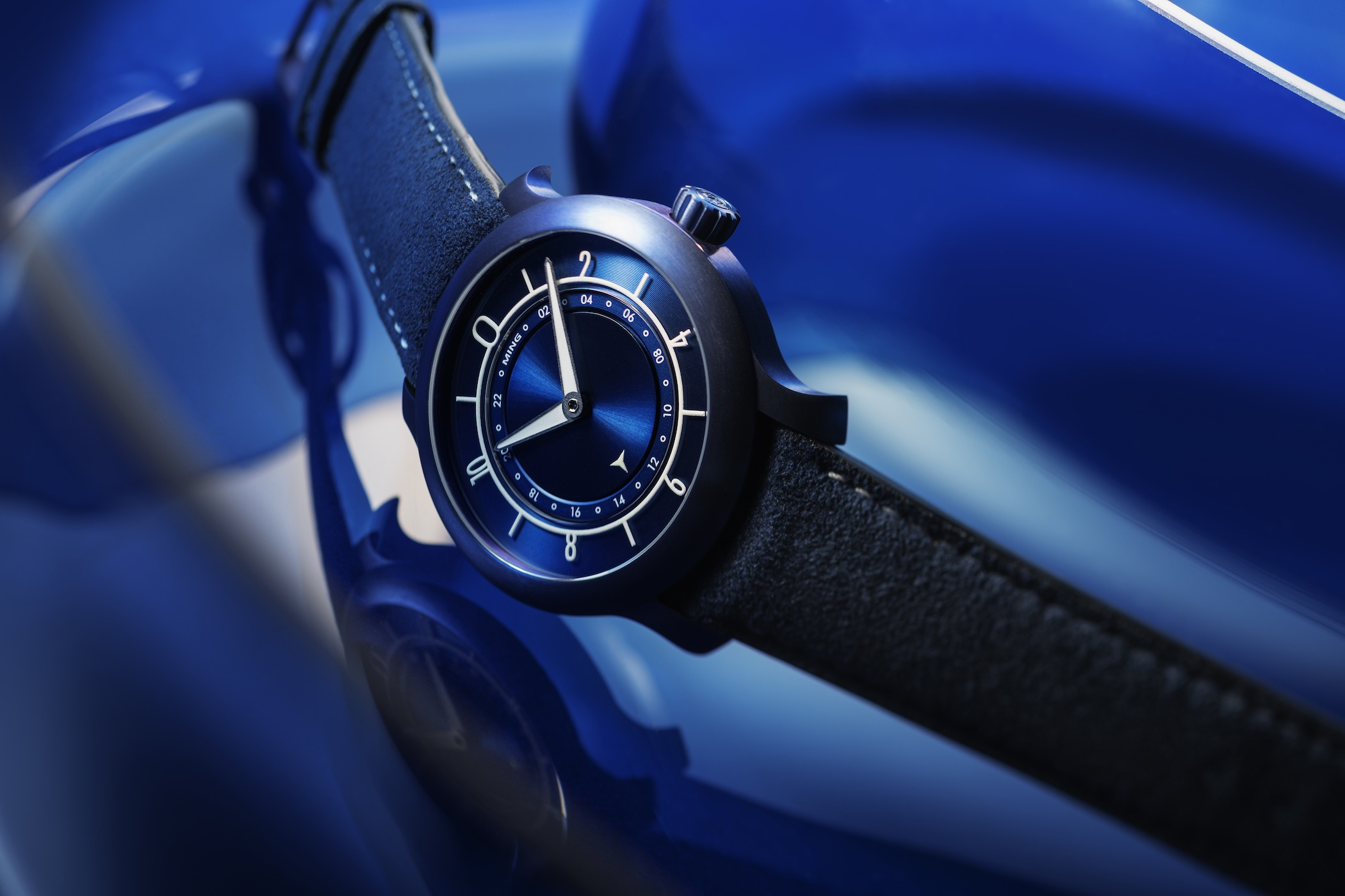 Ming 17.03 Ultra Blue - anniversary limited edition