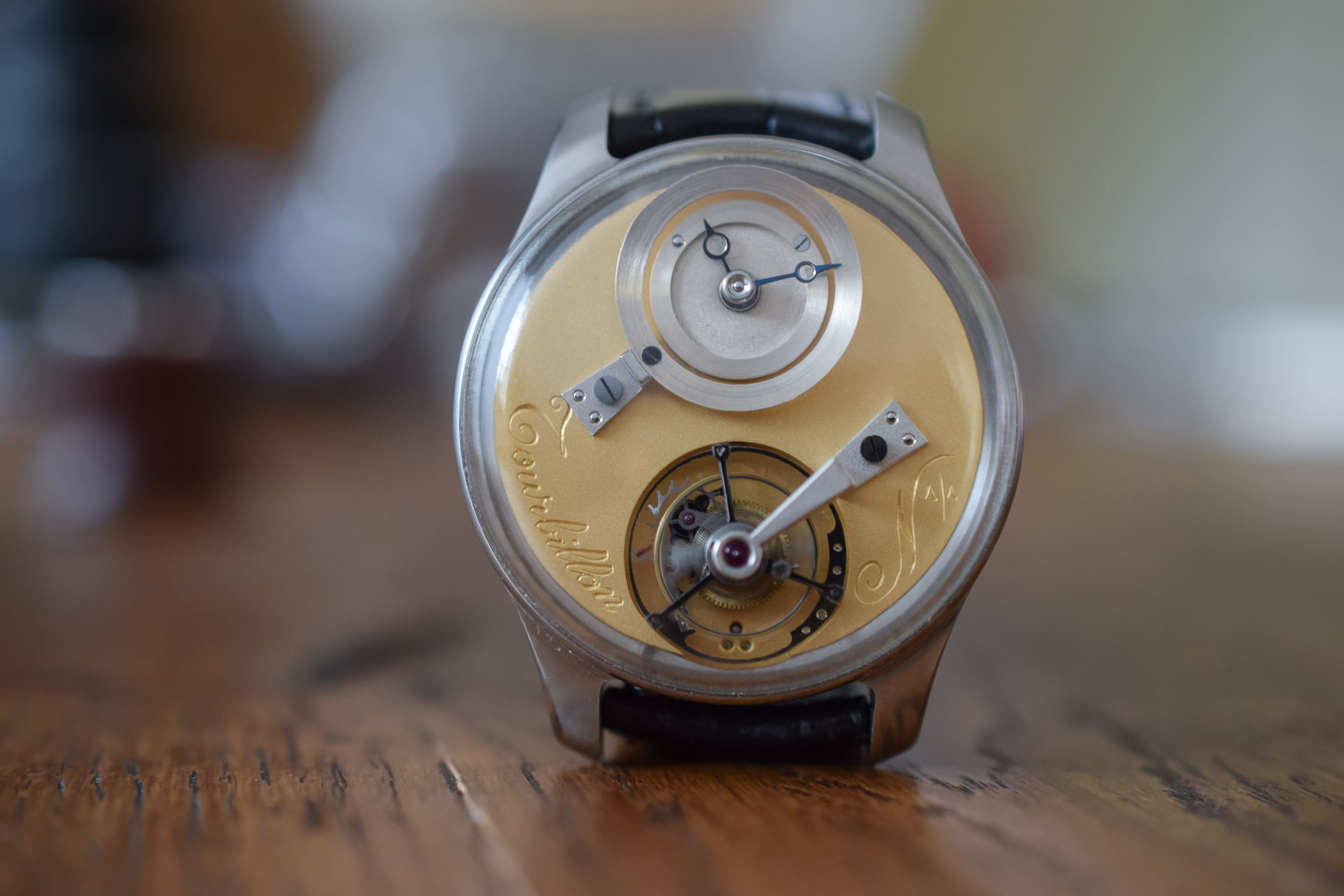 Montre d'Ecole Tourbillon by Remy Cools - Young Talent