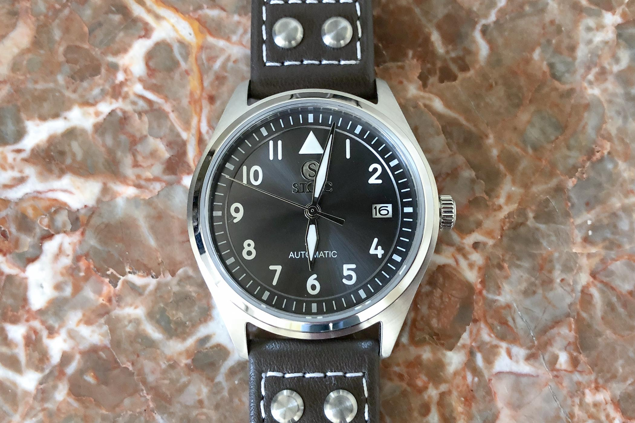 Stoic World Pilots Watch Peter Speake Marin review - 4