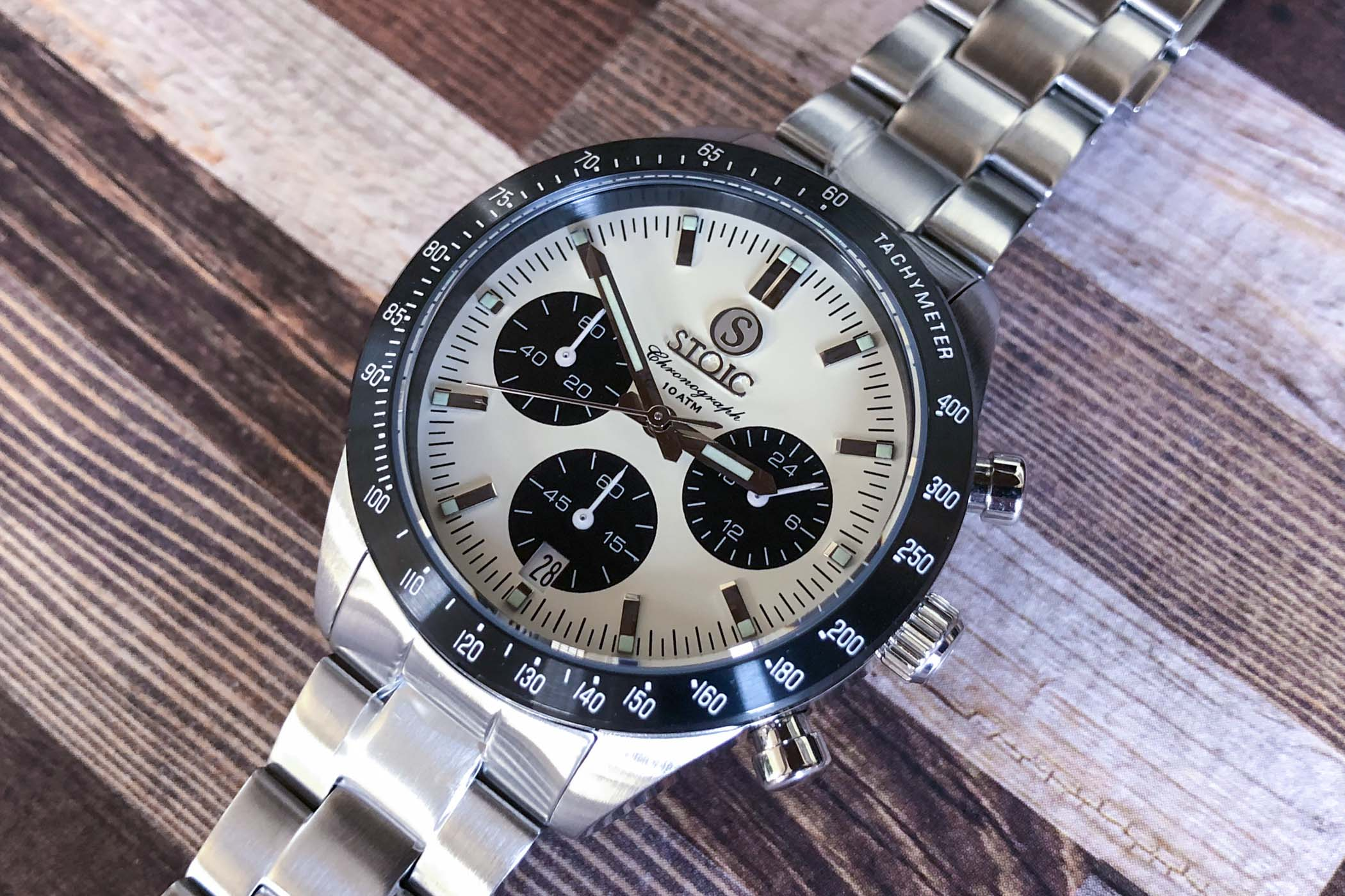 Stoic World chronograph Peter Speake Marin review - 3