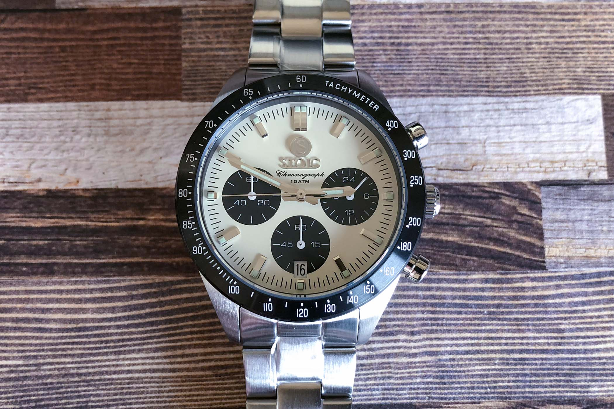 Stoic World chronograph Peter Speake Marin review - 4