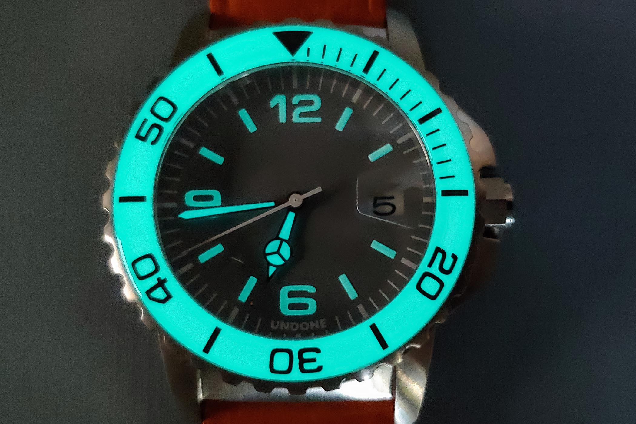 UNDONE Aqua Dive Watch automatic, customizable - review