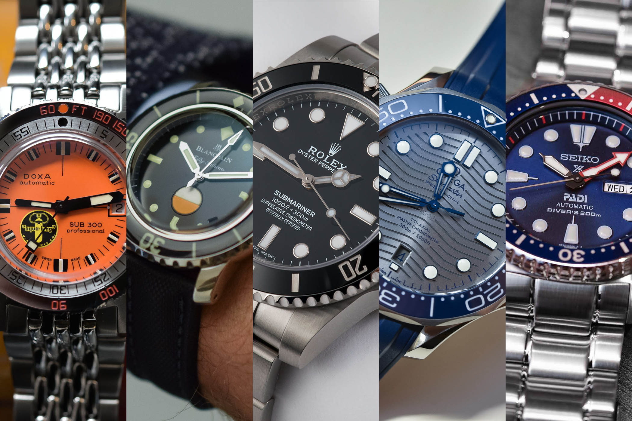ecdef4d6f 5 of The Most Iconic Dive Watches You Can Buy in 2018 - Monochrome ...