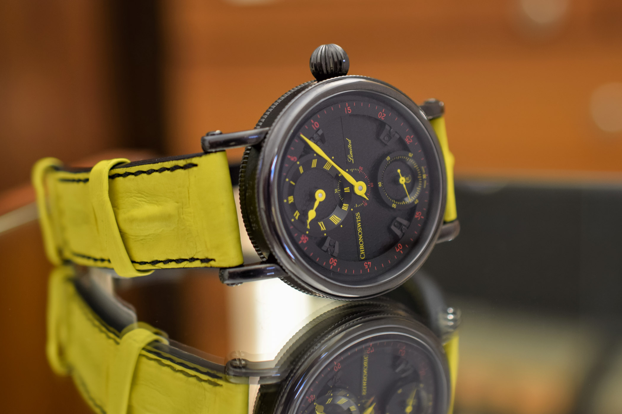 Chronoswiss Flying Grand Regulator Limited Editions Red and Yellow