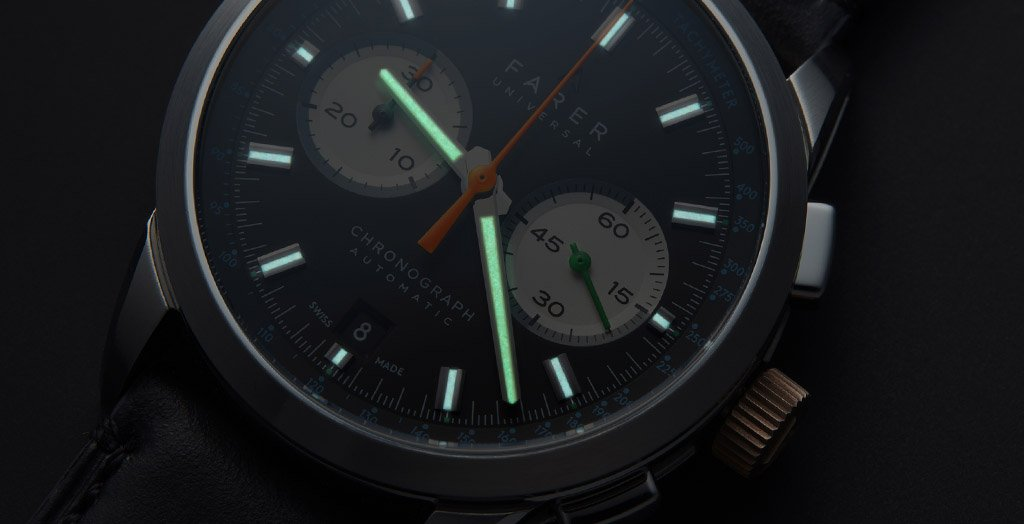 Farer Automatic Chronograph Series Cobb - Eldridge - Segrave - 1