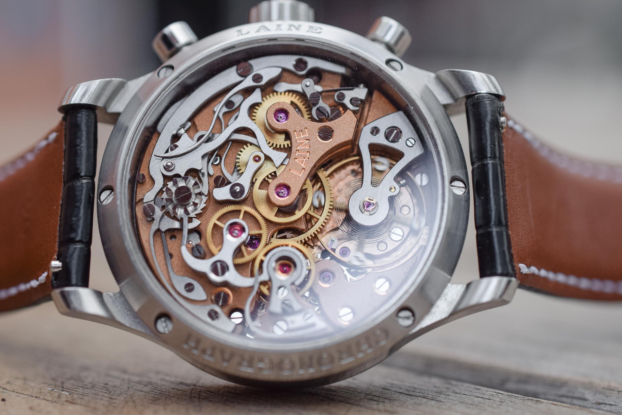 Laine Classic Chronograph Valjoux 22