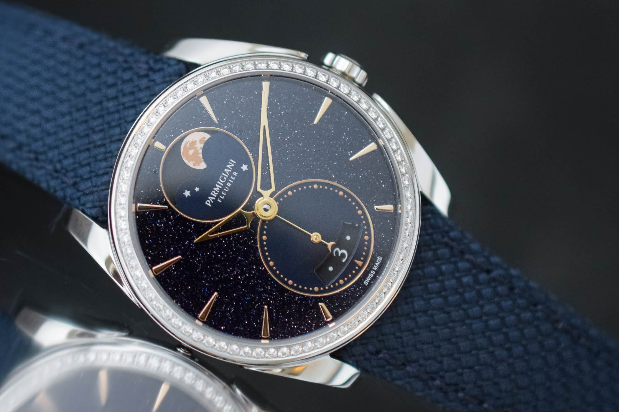 Parmigiani Fleurier Tonda Metropolitaine Selene Galaxy - Ladies watch - 5