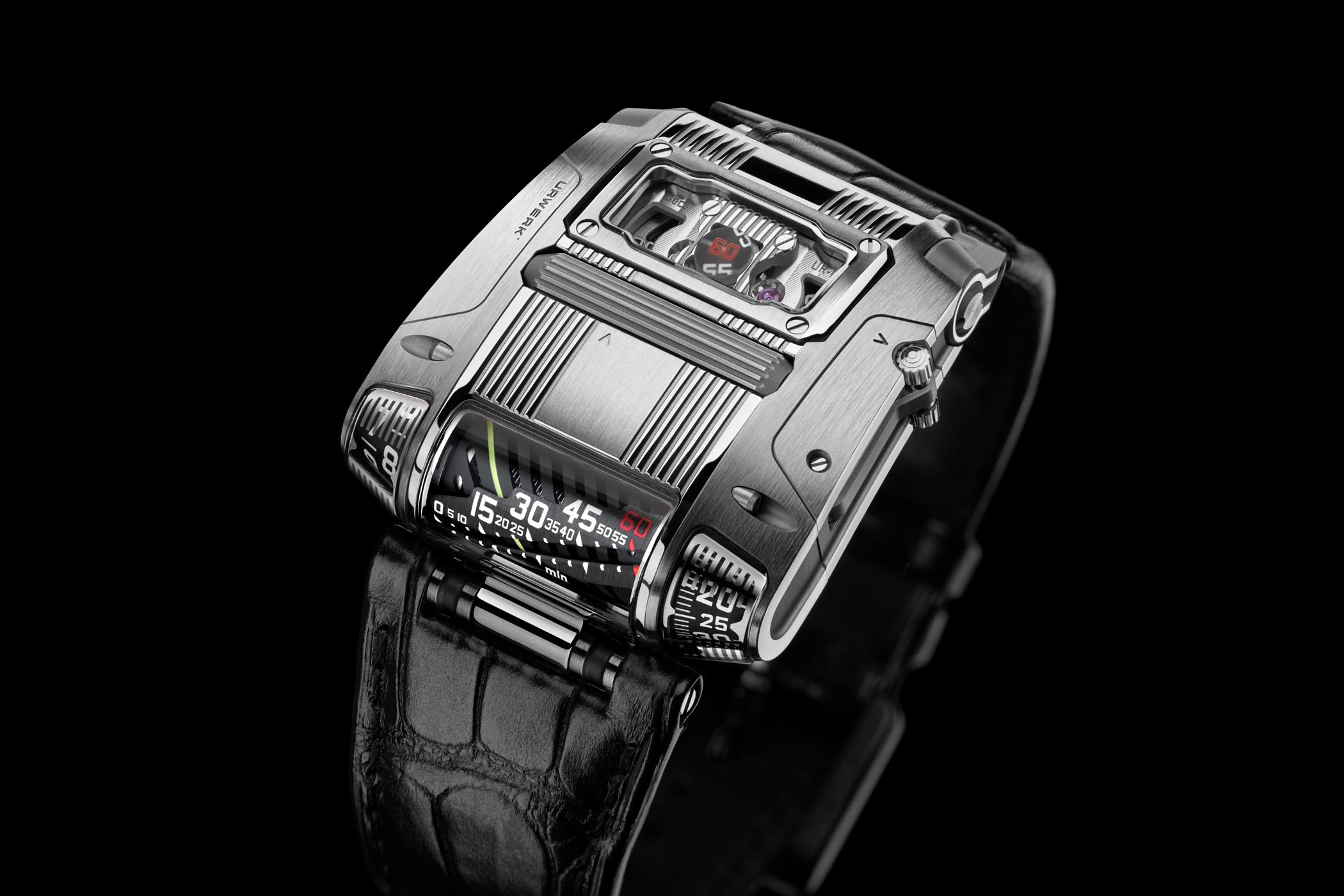 Introducing - URWERK UR-111C with retrograde linear minutes