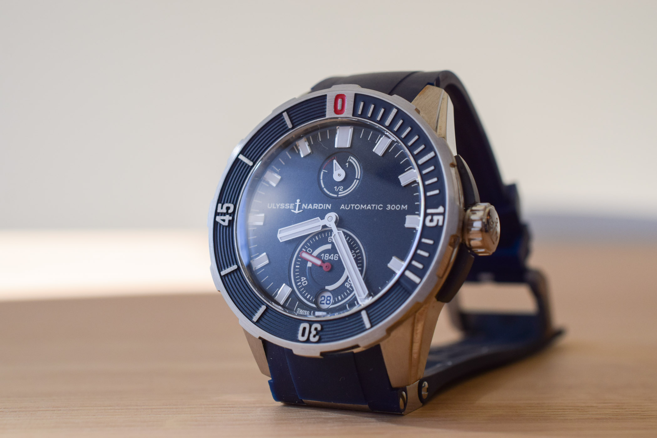Hands On The The 2018 Ulysse Nardin Diver Chronometer Collection Specs Price