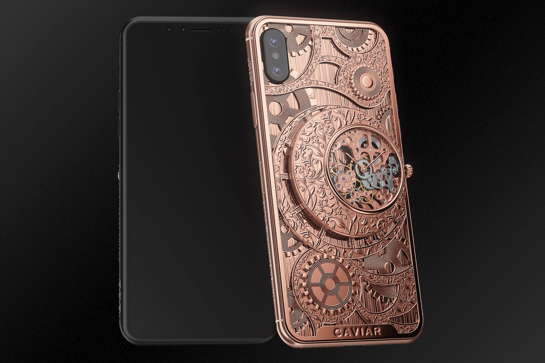 Caviar iPhone XS Grand Complications Skeleton - 1