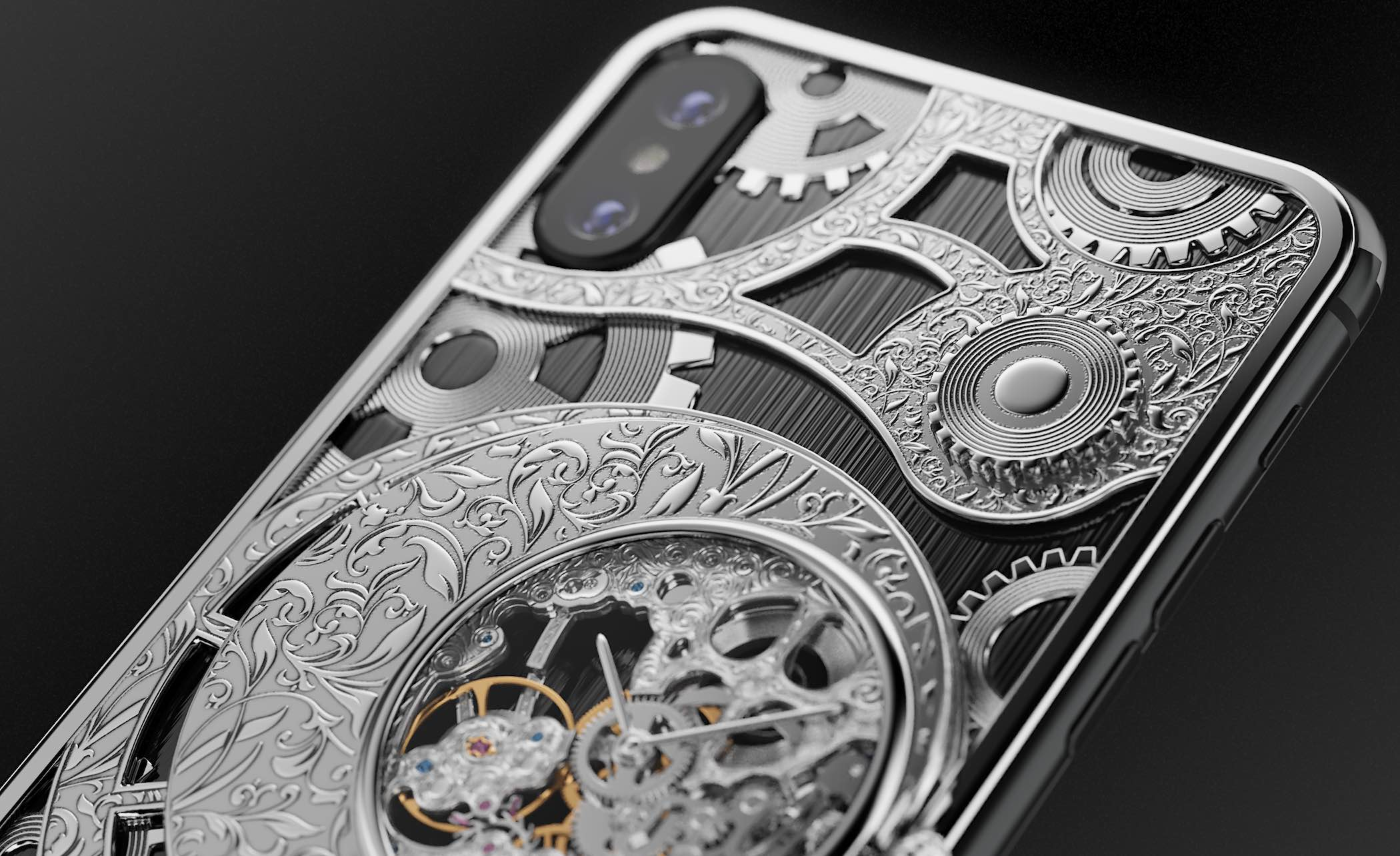 Caviar iPhone XS Grand Complications Skeleton - 2