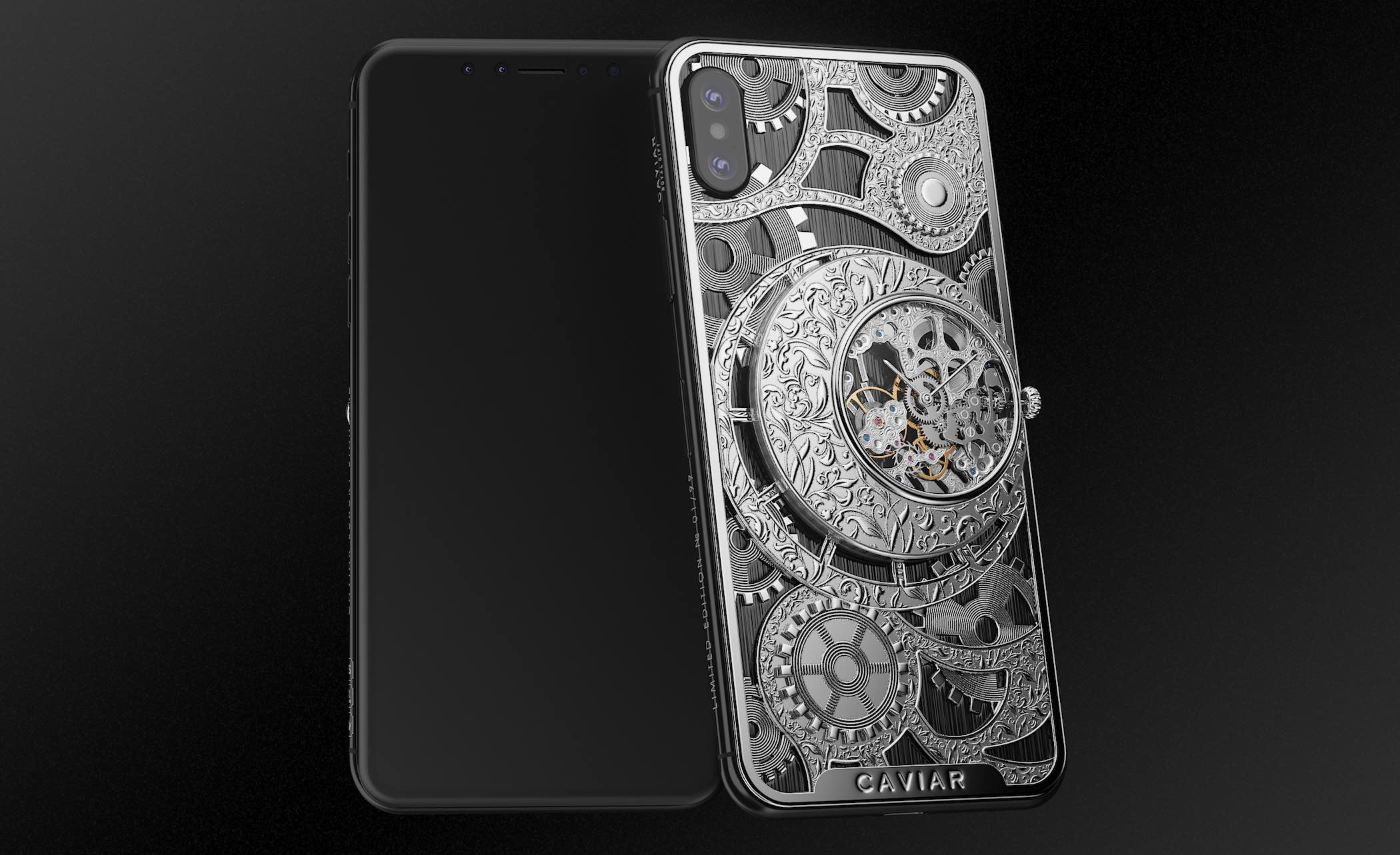 Caviar iPhone XS Grand Complications Skeleton - 3