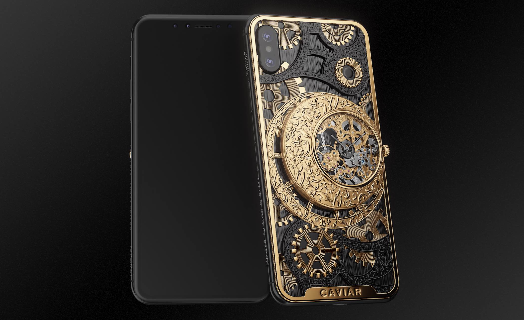 Caviar iPhone XS Grand Complications Skeleton - 6