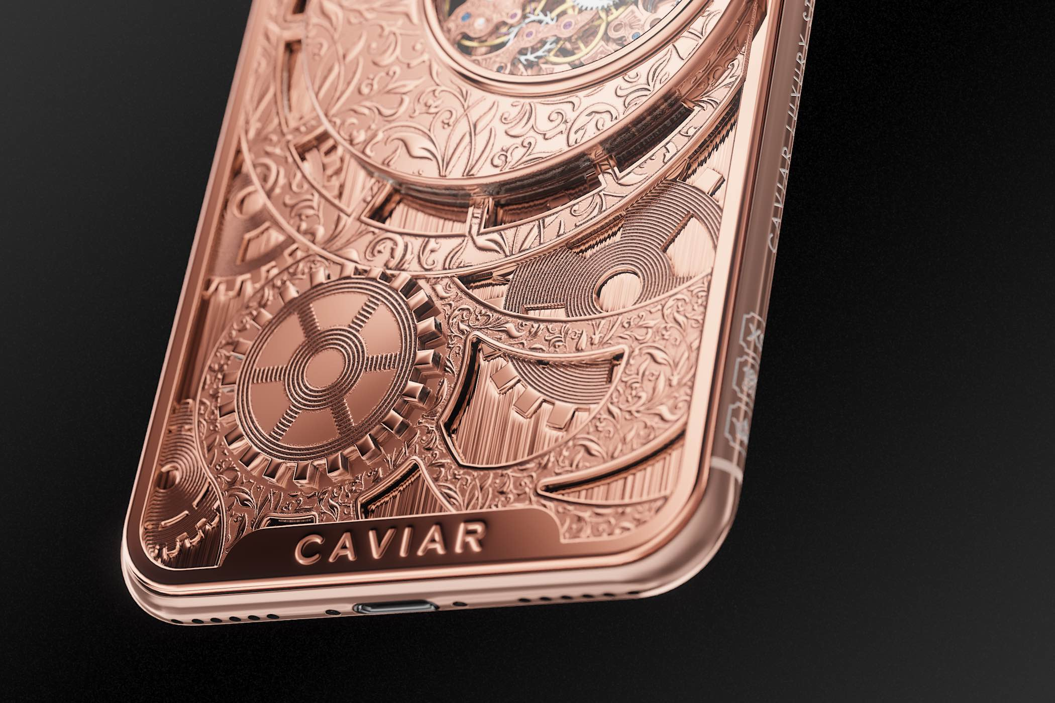 Caviar iPhone XS Grand Complications Skeleton - 7