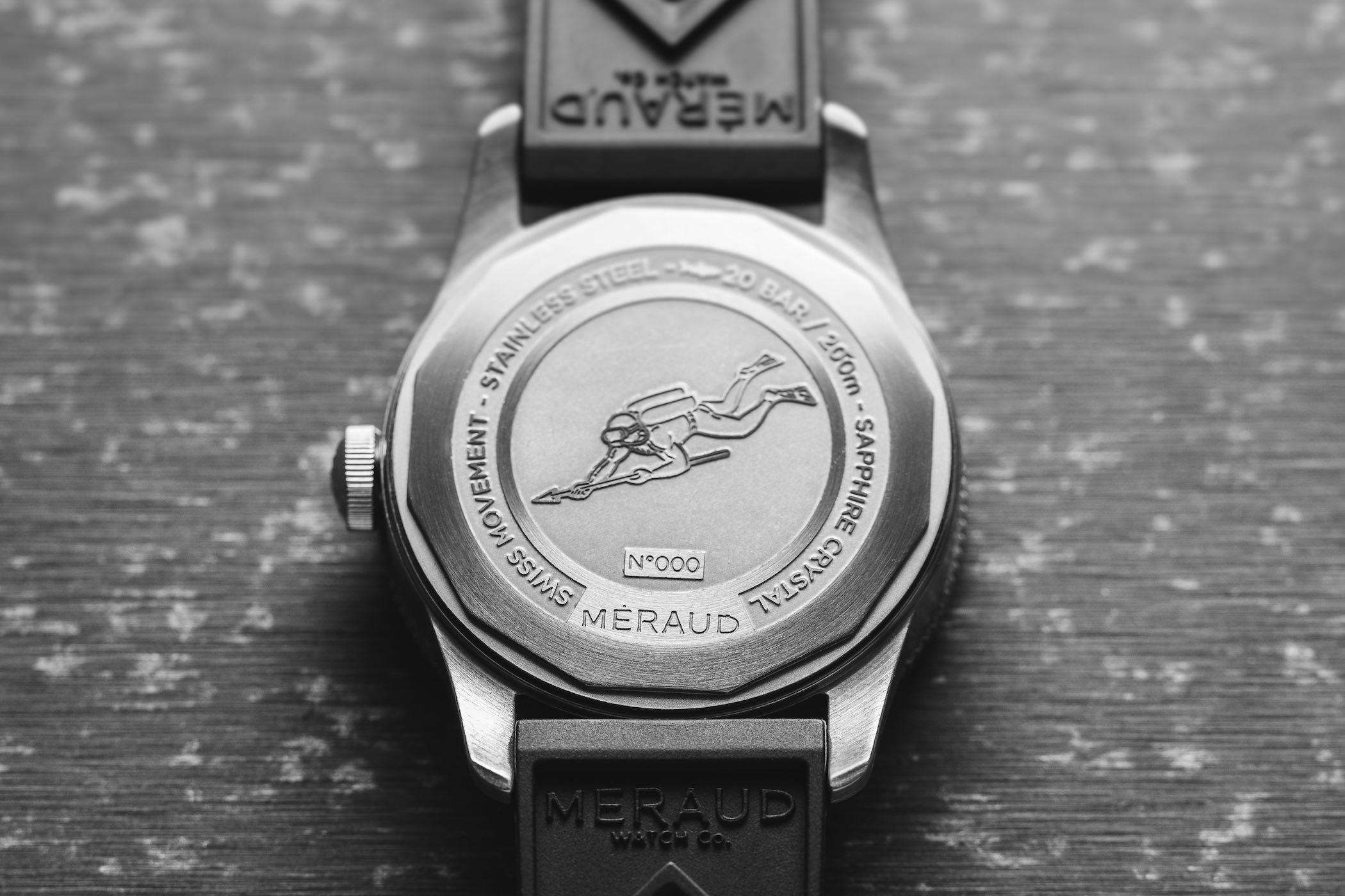Meraud Bonaire Dive Watch Kickstarter