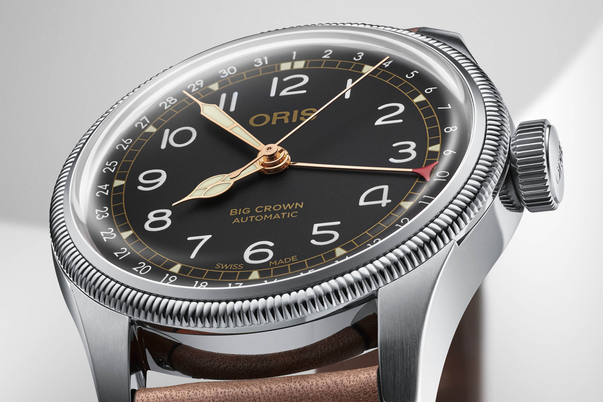 Oris Movember 2018 Edition - Oris Big Crown Pointer Date
