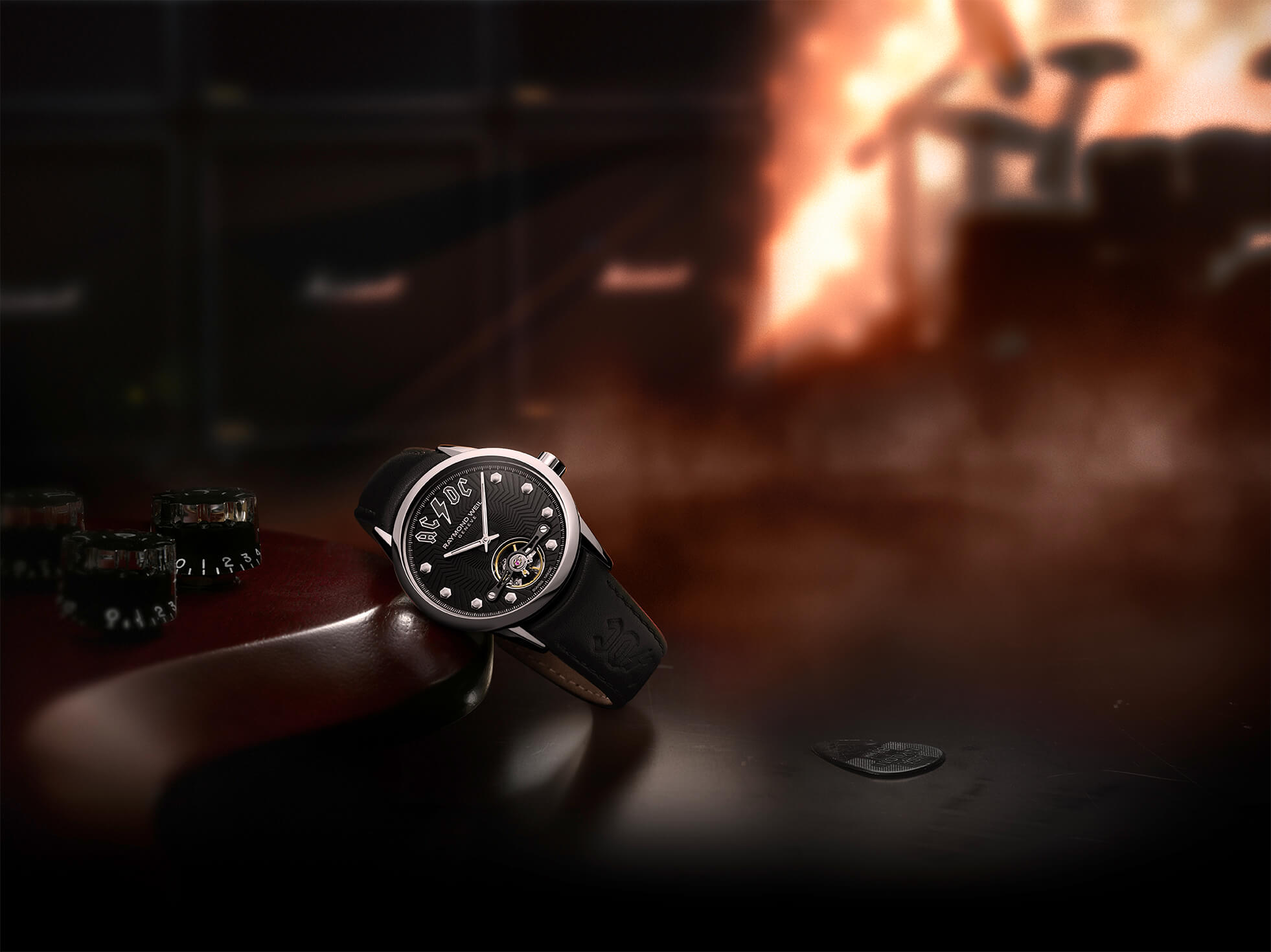 Raymond Weil Is Rocking A Contest To Give A Freelancer Ac Dc Limited