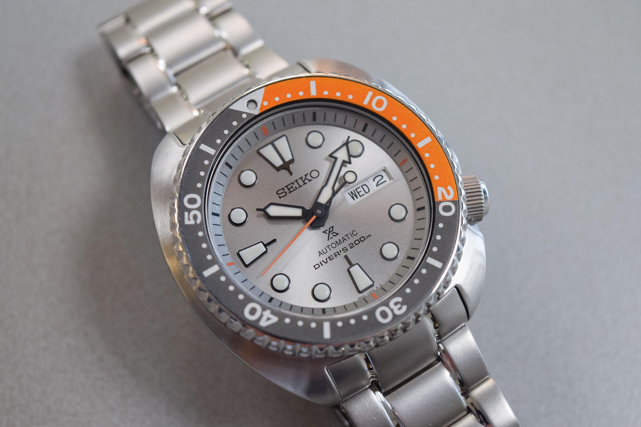 Seiko Prospex Turtle Dawn Grey SRPD01K1 Europe Limited Edition