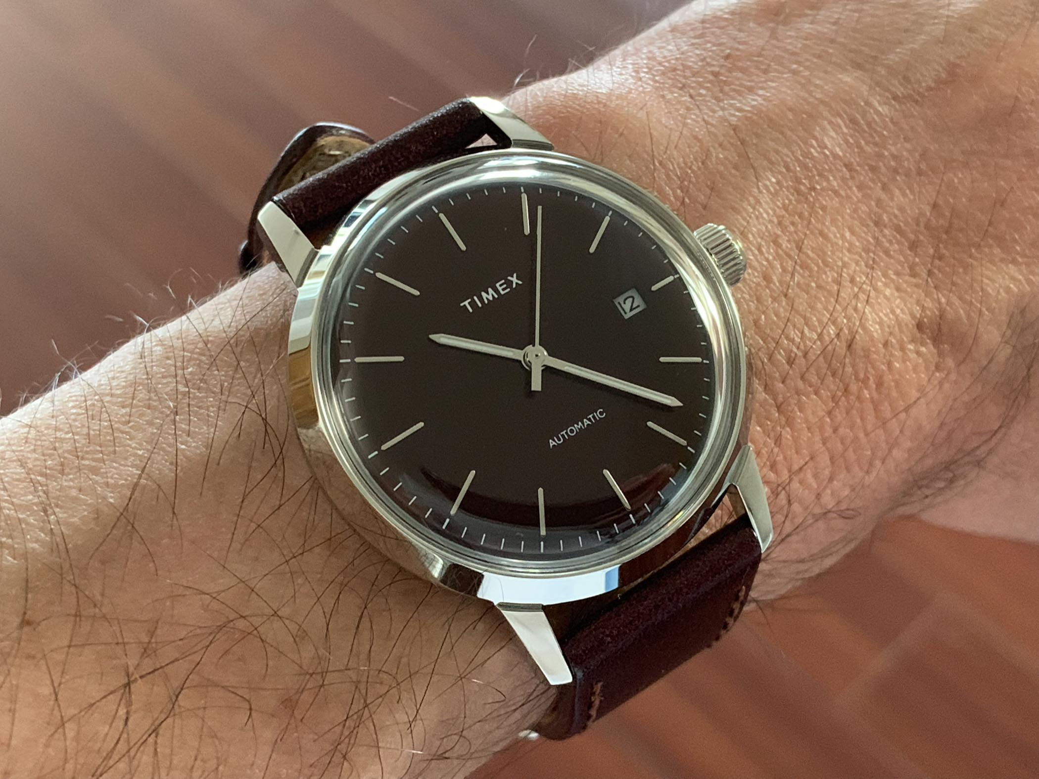 2df233f00 Review - Timex Marlin Automatic, An Affordable Dress/Casual Timex ...