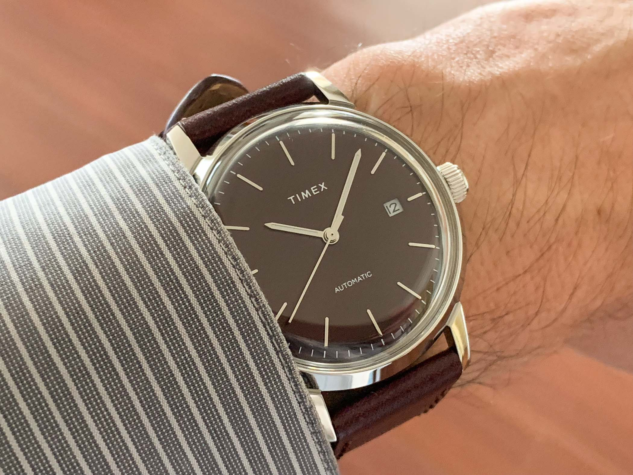 Timex Marlin Automatic Review - 8