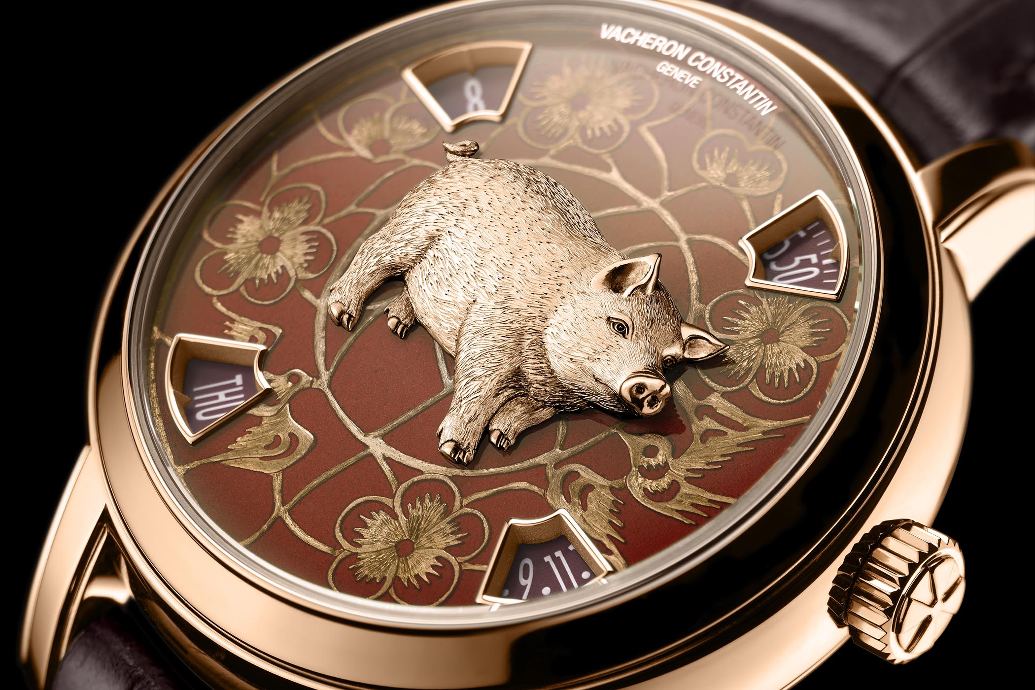 Vacheron Constantin Metiers Dart The Legend Of The Chinese Zodiac Year Of The Pig - 2